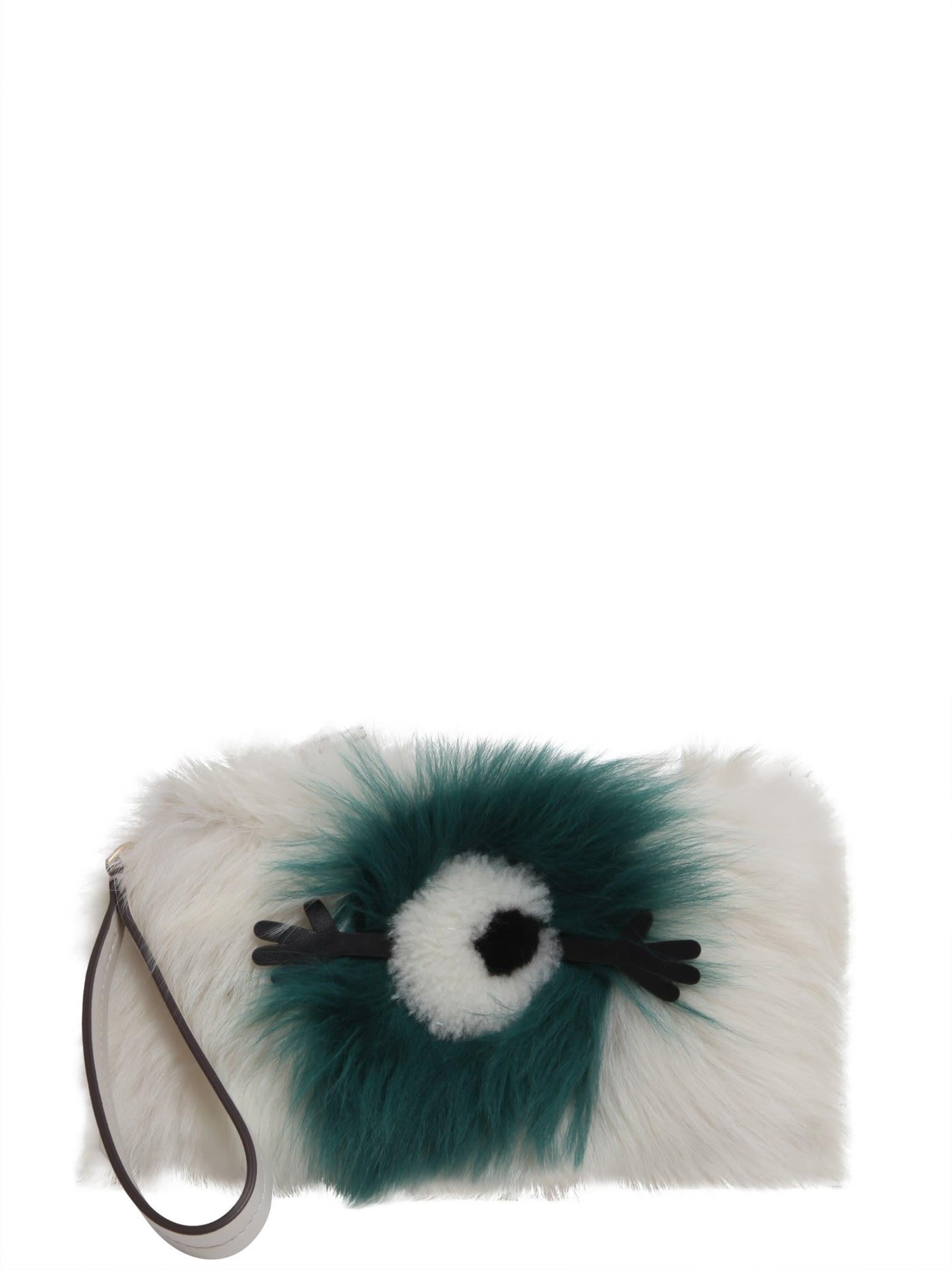Eyes Fur Clutch