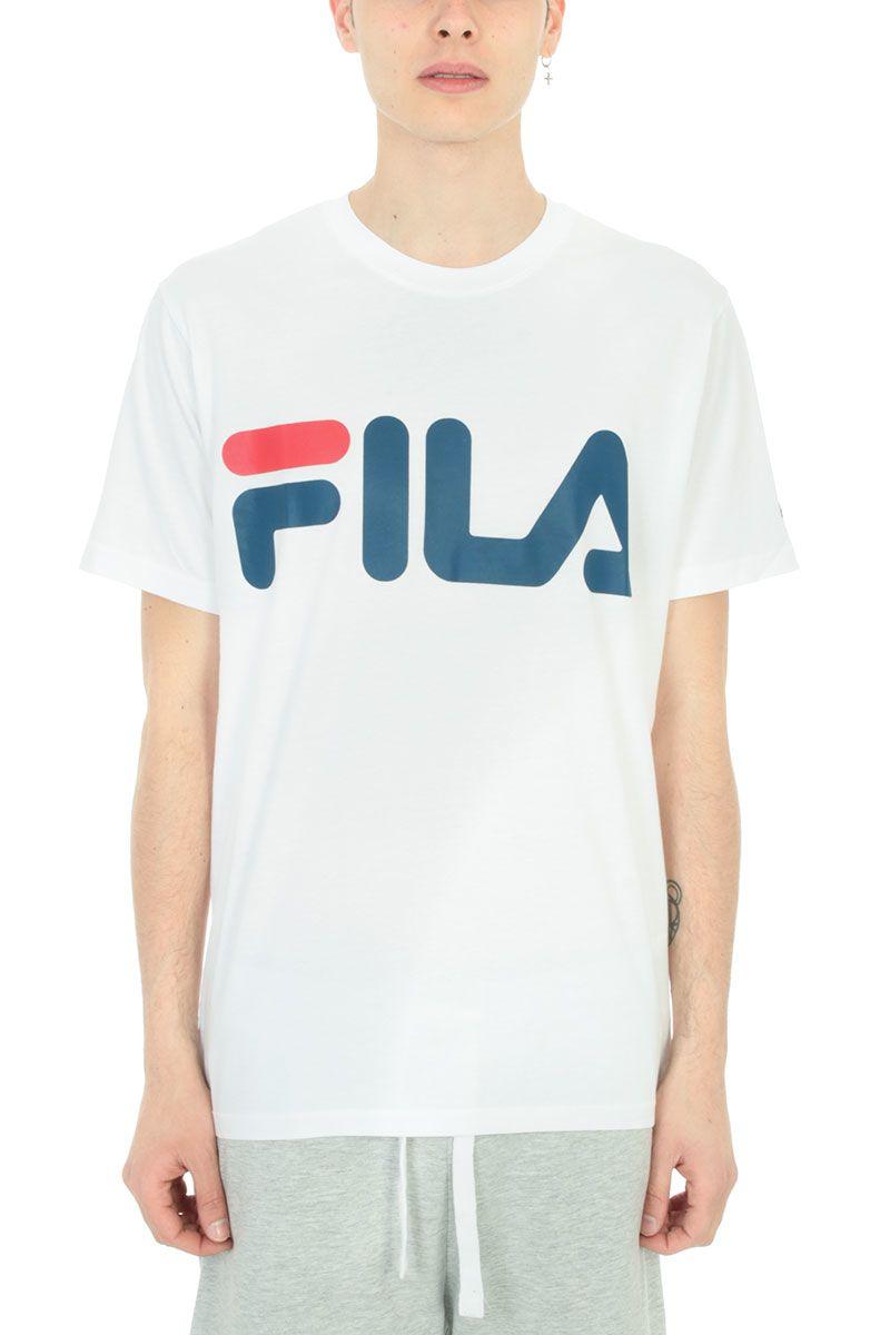 Fila Tops WHITE COTTON T-SHIRT