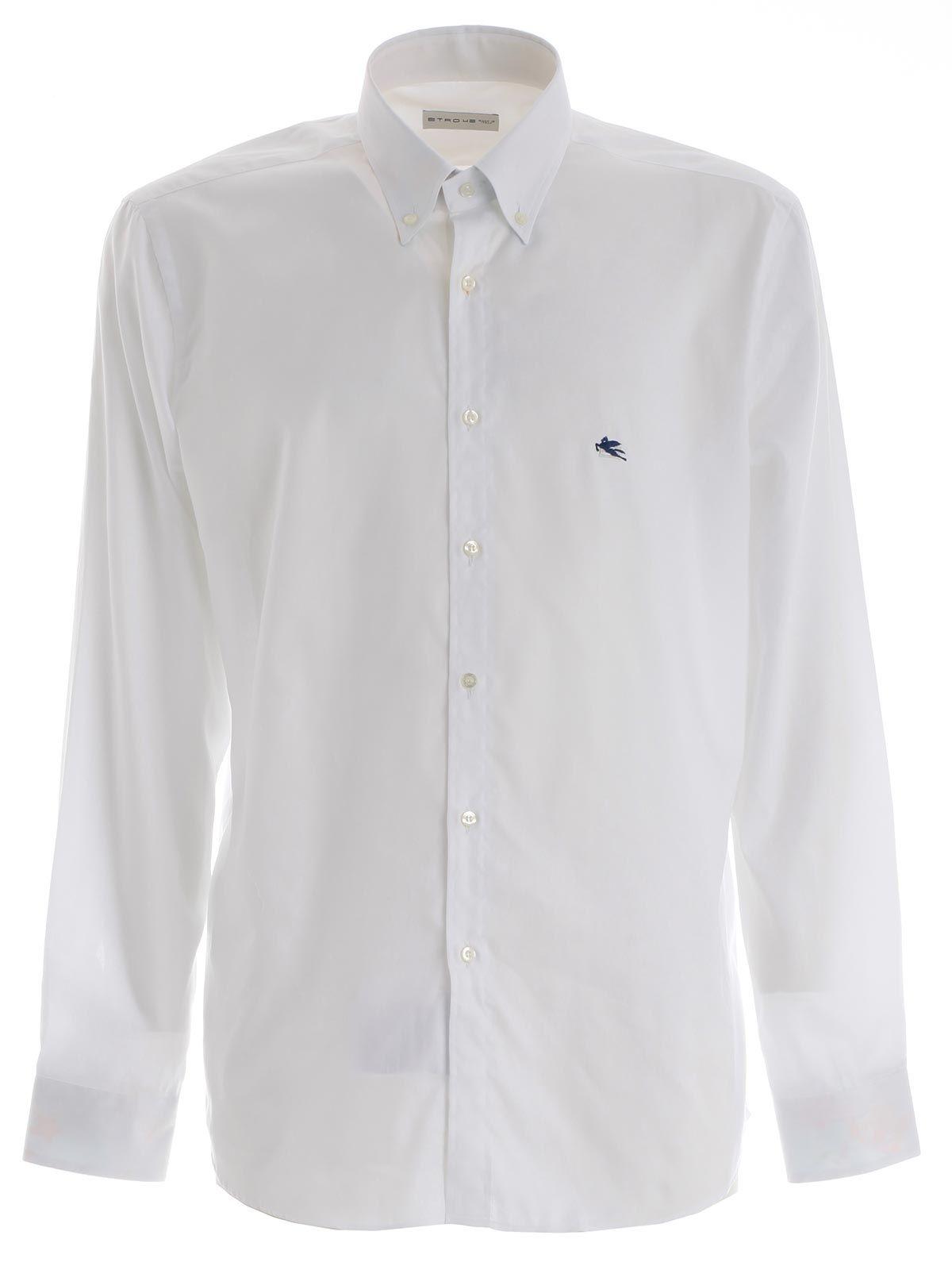 Etro etro shirt white men 39 s shirts italist for Etro men s shirts