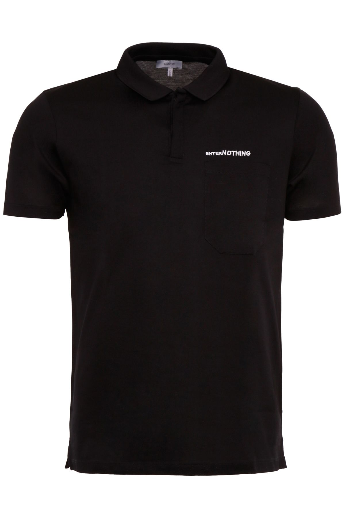 Enter Nothing Embroidered Polo Shirt