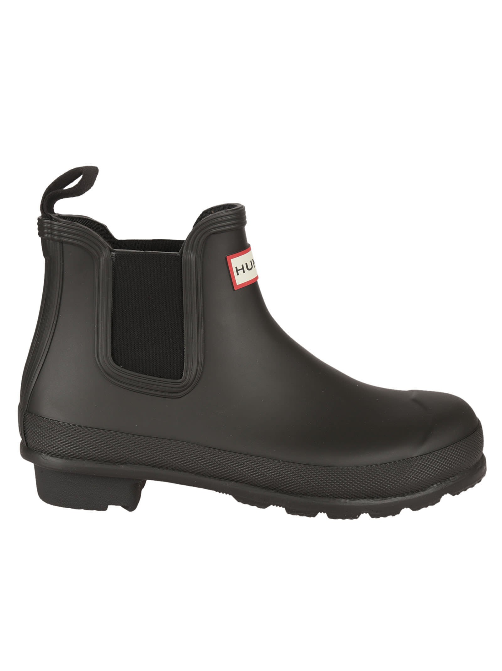 Hunter Black Original Chelsea Rain Boots