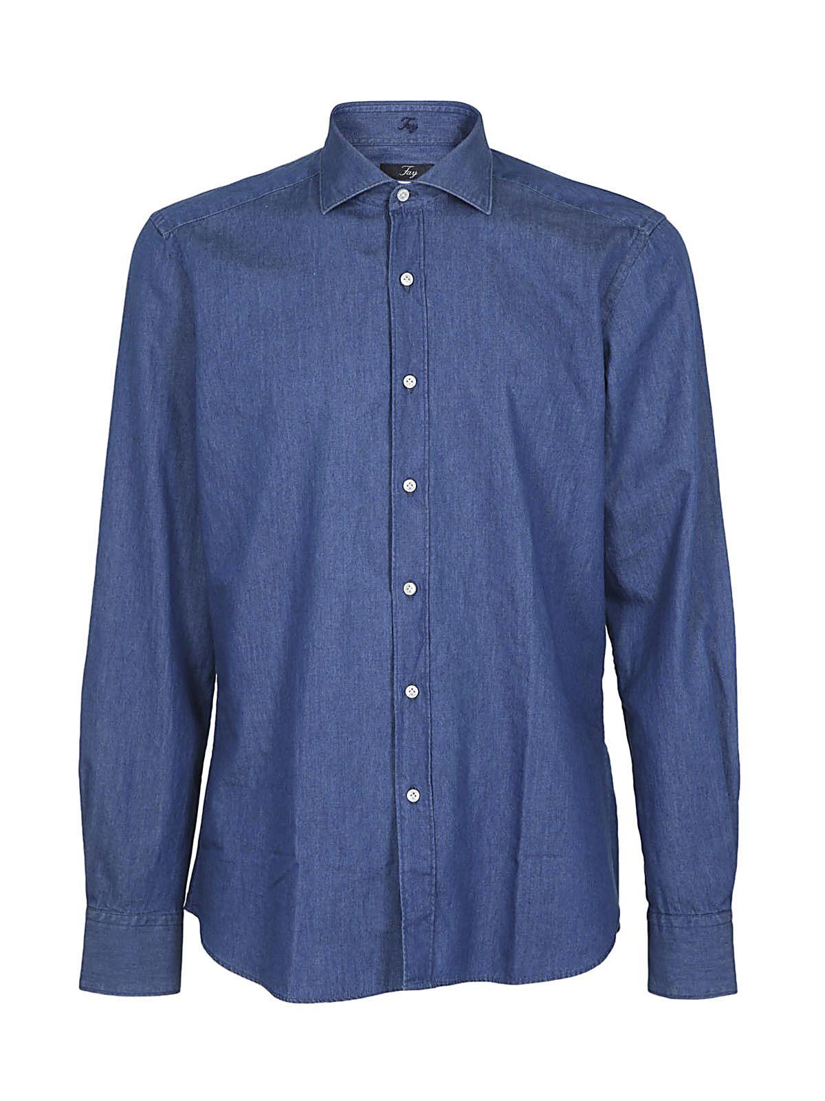 Fay Classic Denim Shirt