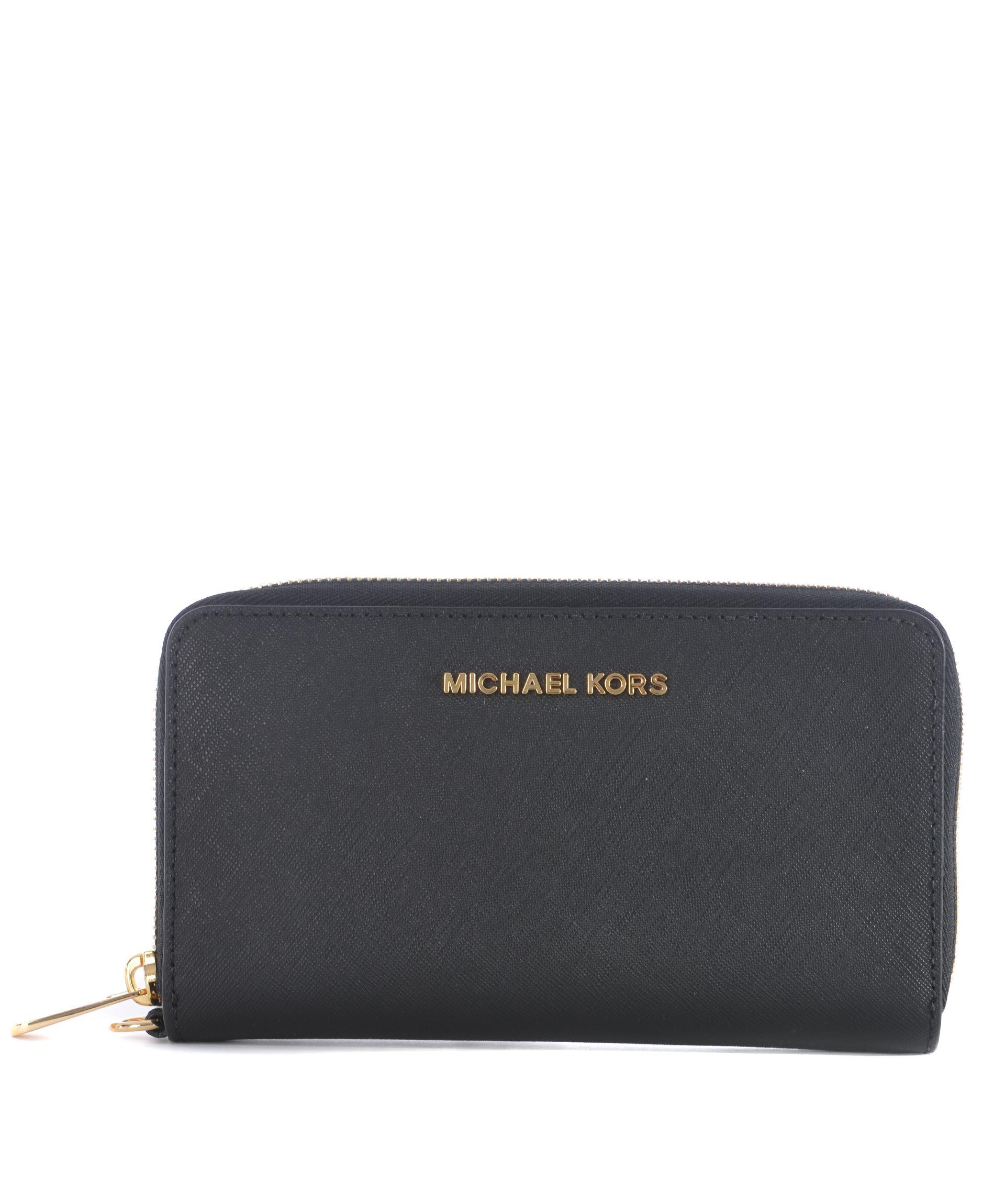 Michael Kors Jet Set Travel Zip Around Wallet