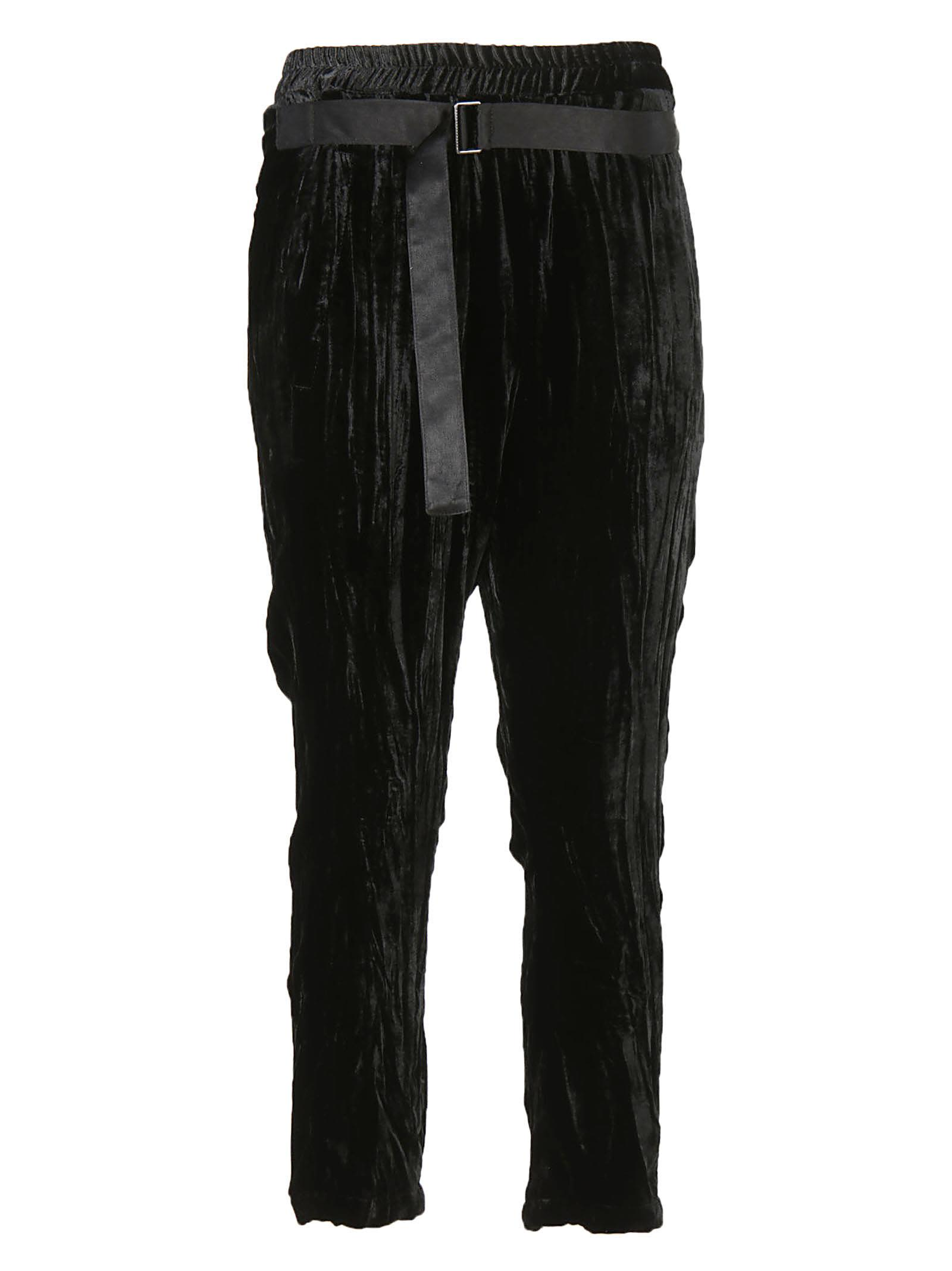 Ann Demeulemeester Belted Trousers