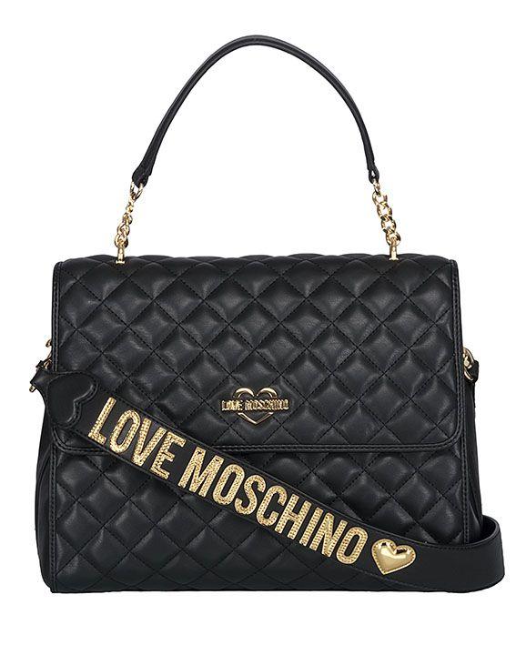 Moschino Quilted Handbag
