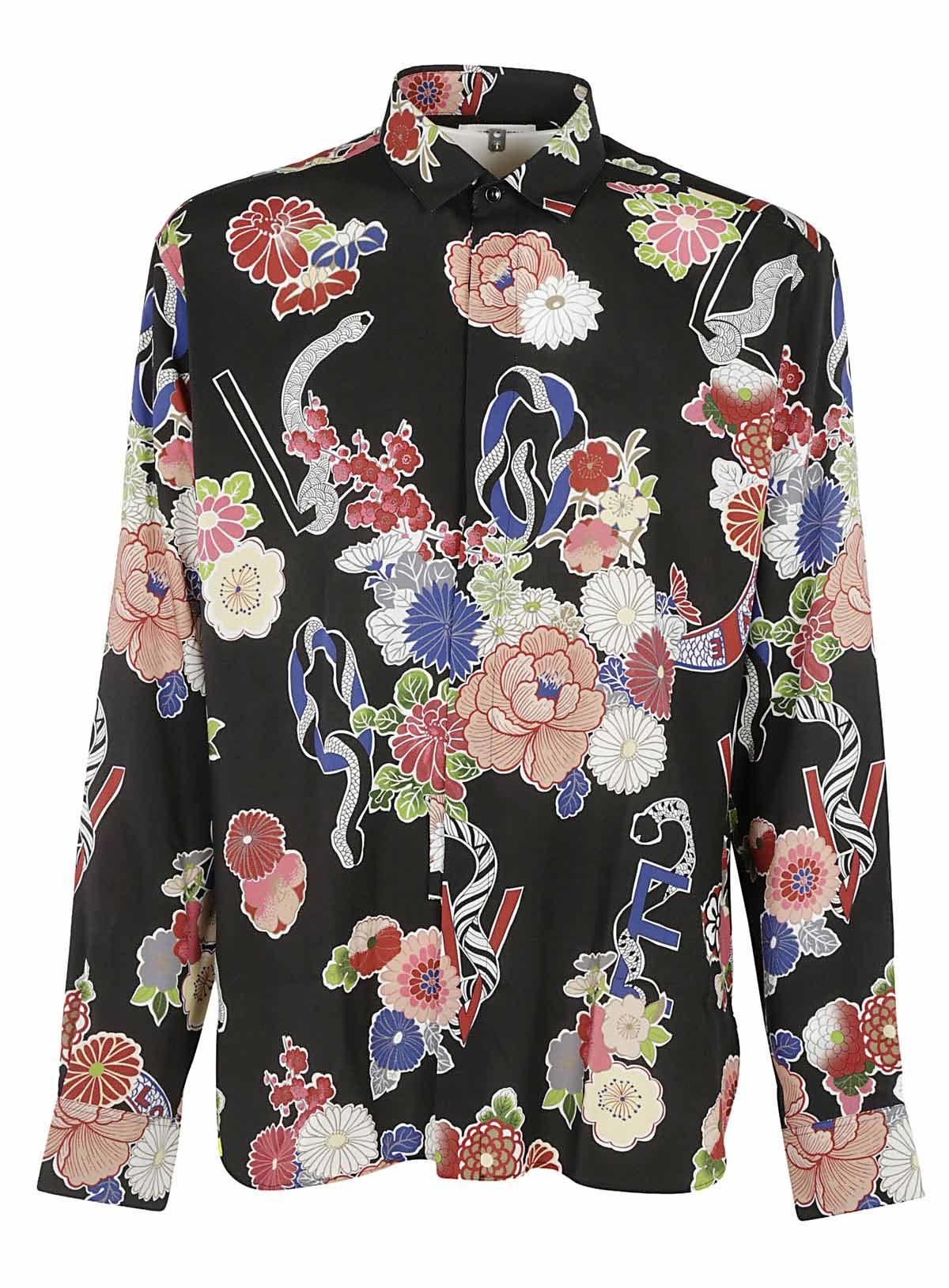 Saint Laurent Saint Laurent Floral Shirt