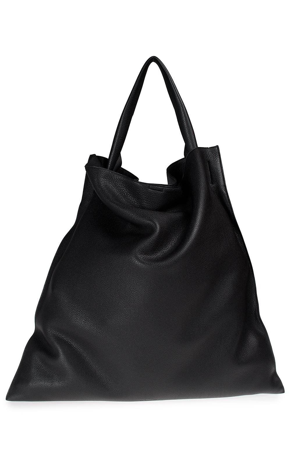 Jil Sander Xiao Lg Leather Tote