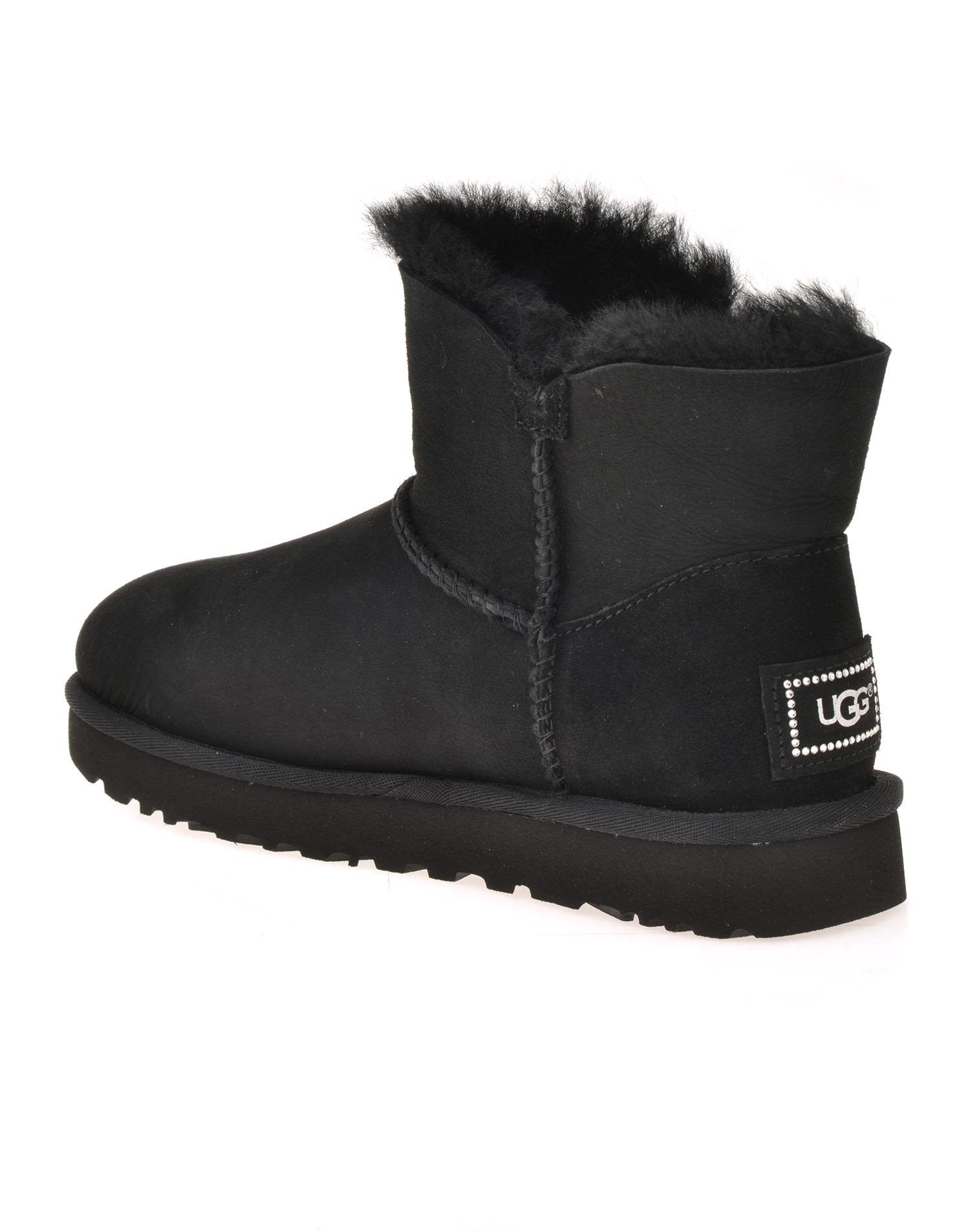 ugg boots mini bailey button bling
