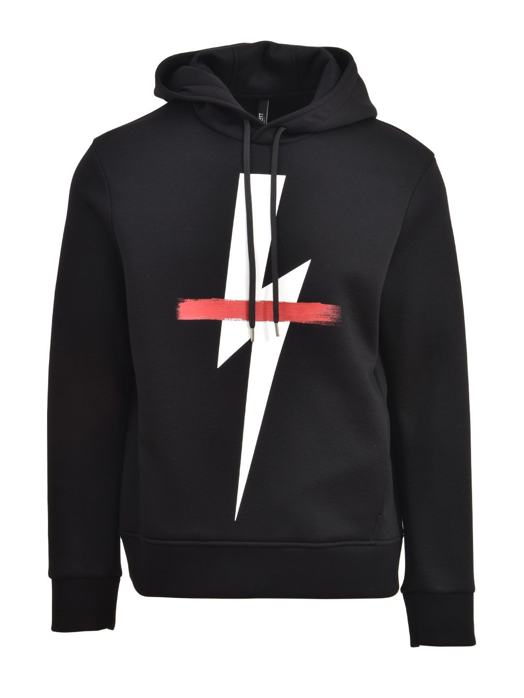 Neil Barrett Flash Black Hoodie