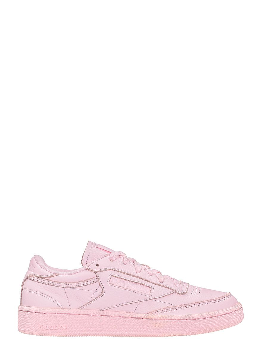 Reebok Club C85 Elm Pink Leather Sneakers
