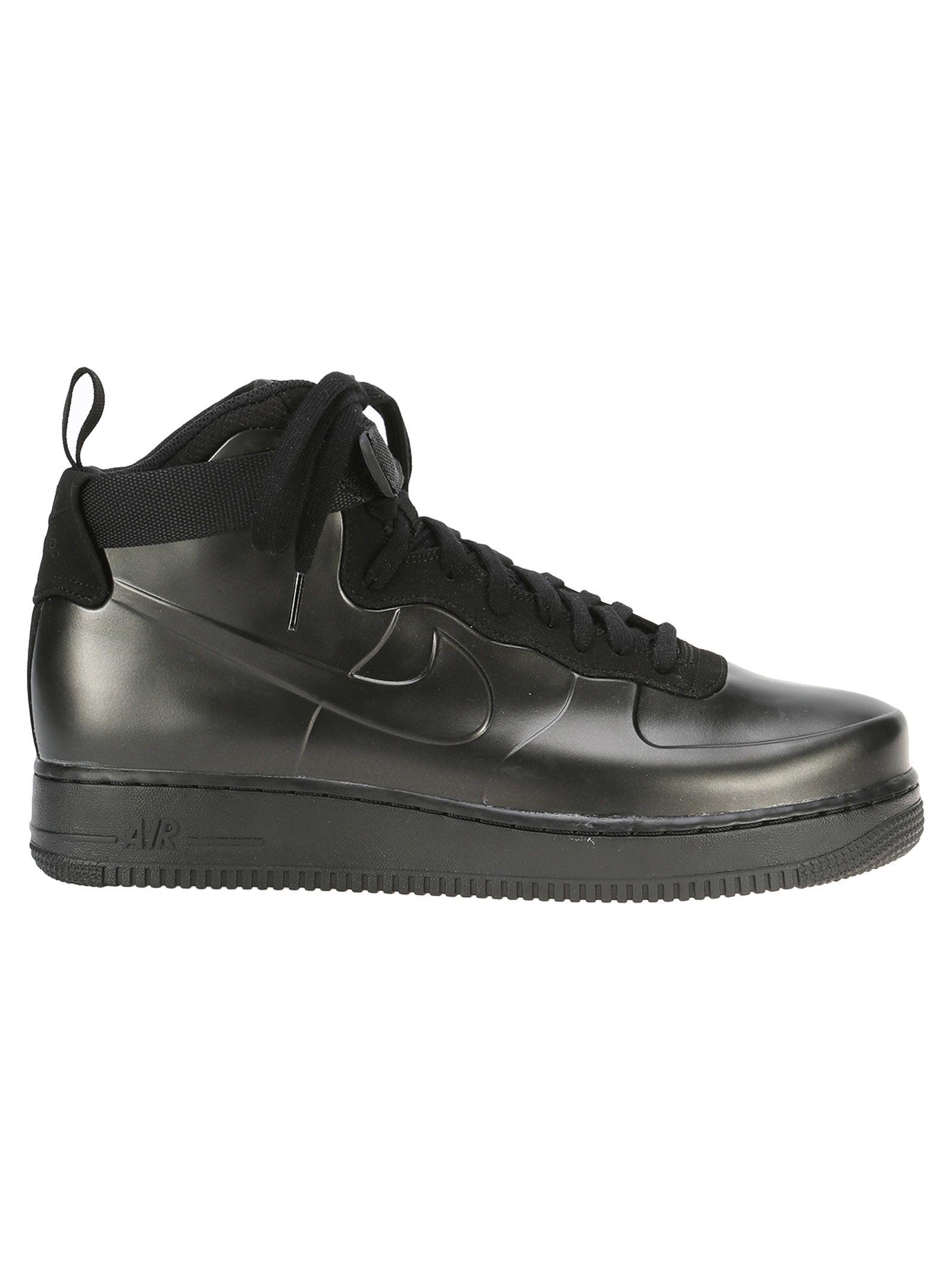 Nike Leather Black Sneakers