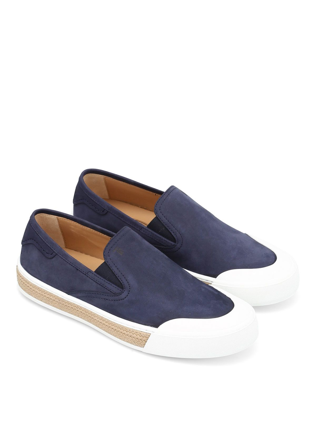 Tods 26a Nubuck Slip-ons
