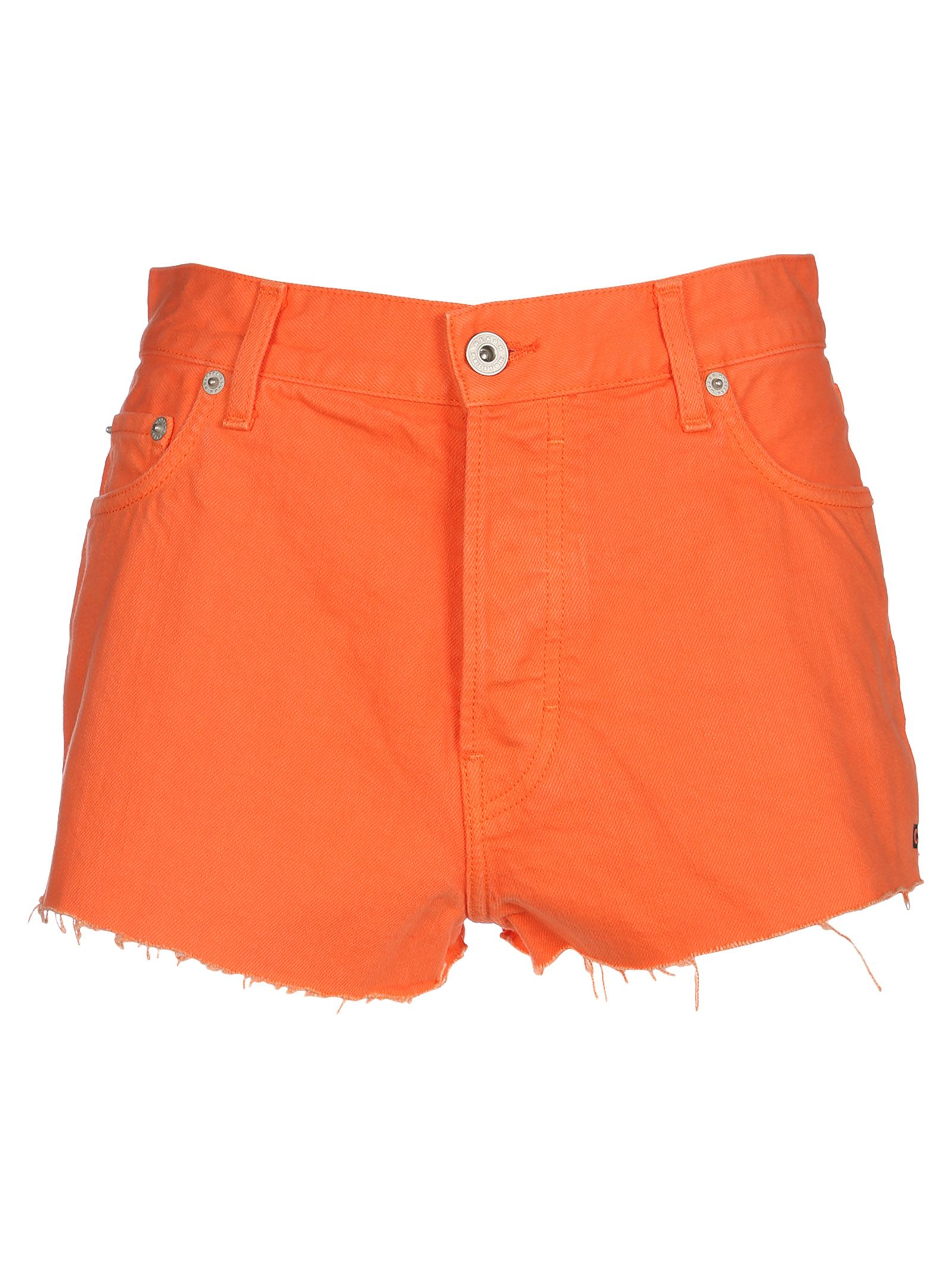 Heron Preston Raw Edge Short Shorts