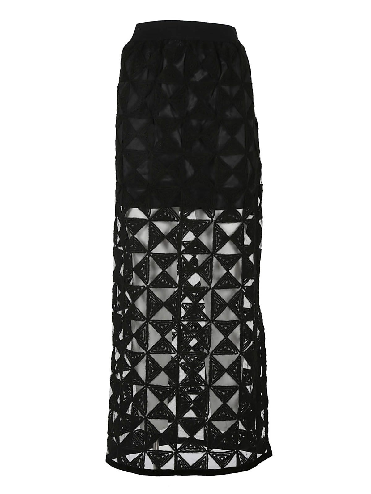Federica Tosi Embroidered Long Skirt