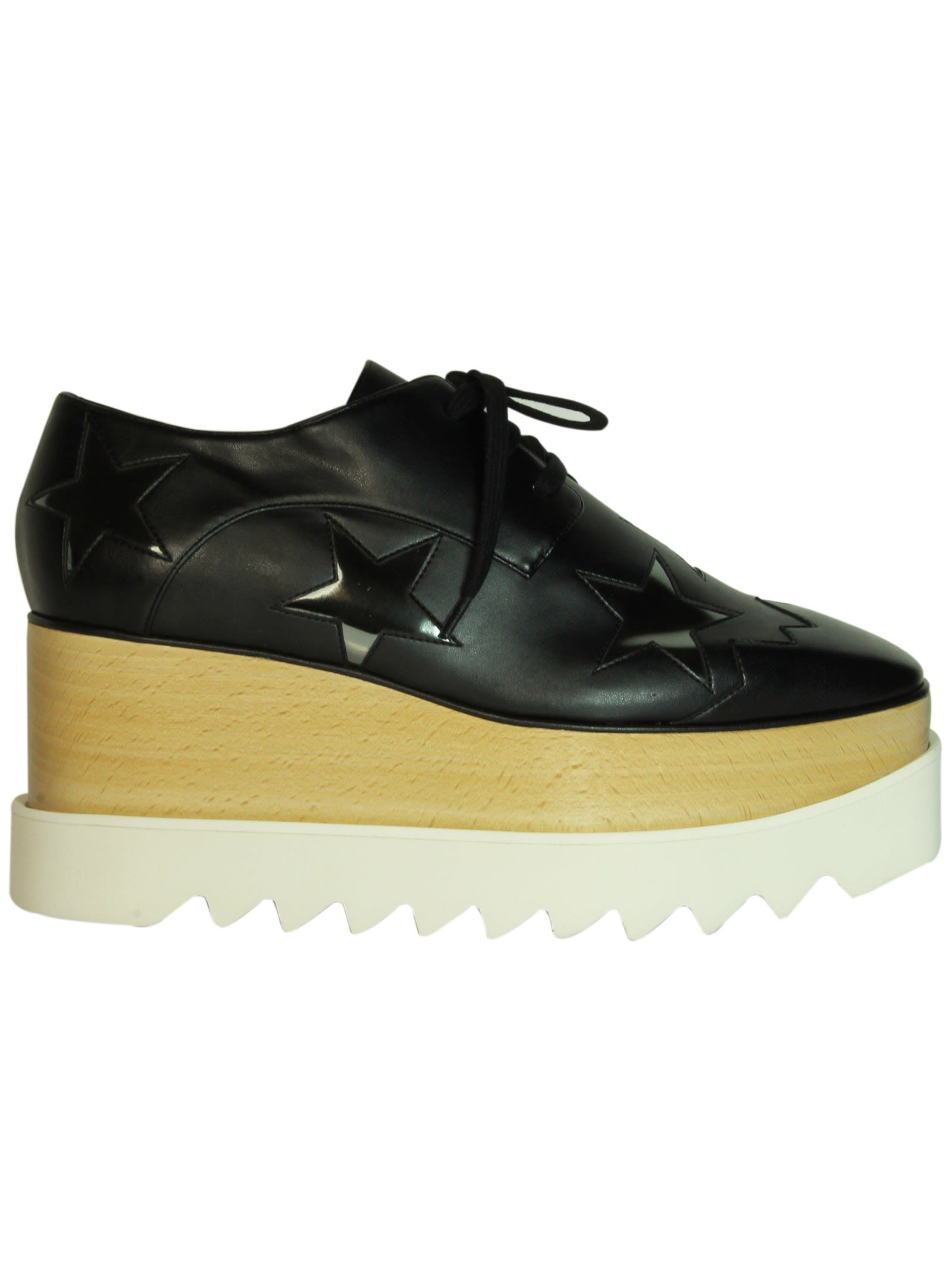 Black Zync Star Elyse Platform Shoes
