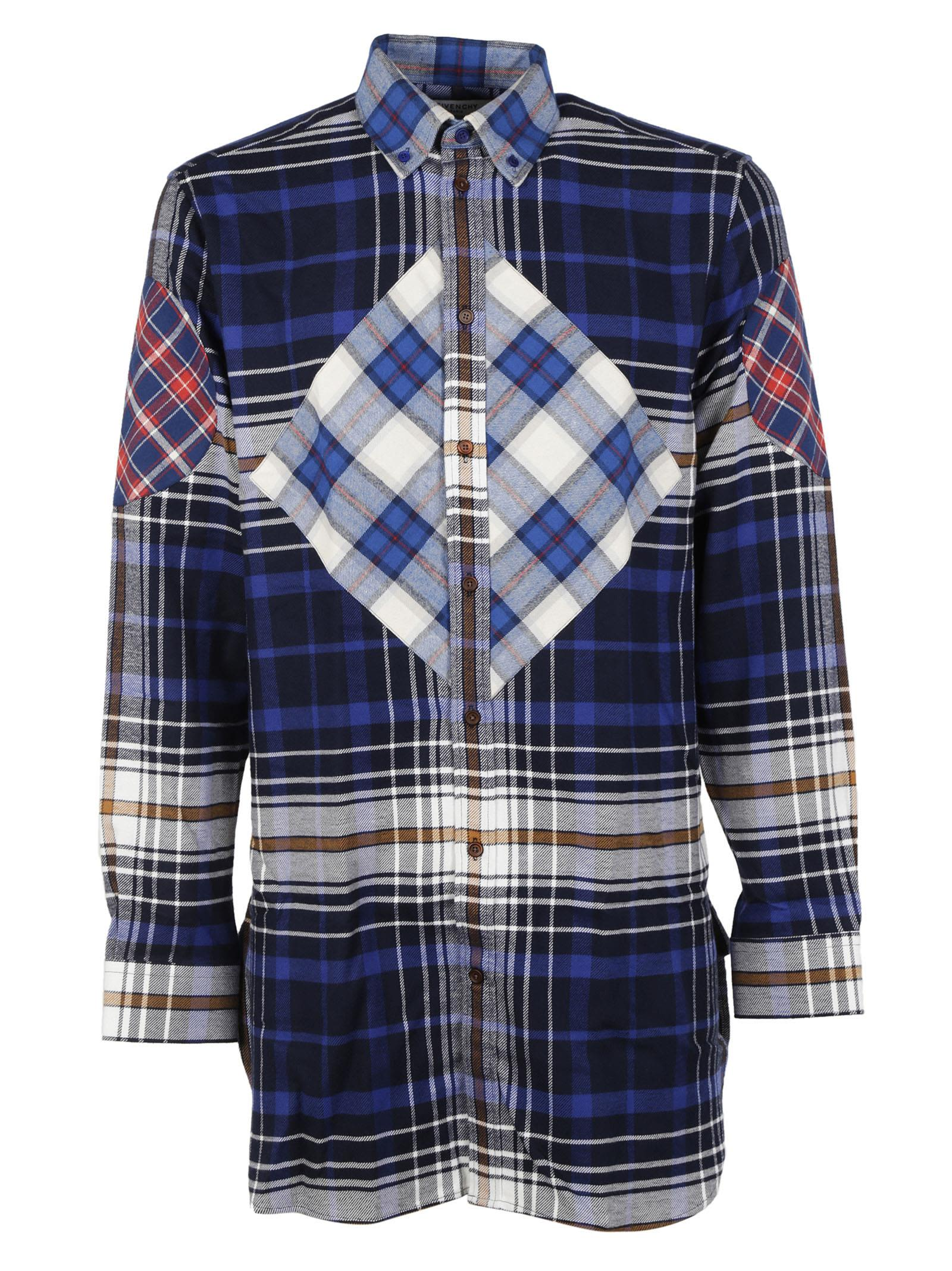 Givenchy Checked Oversized Shirt
