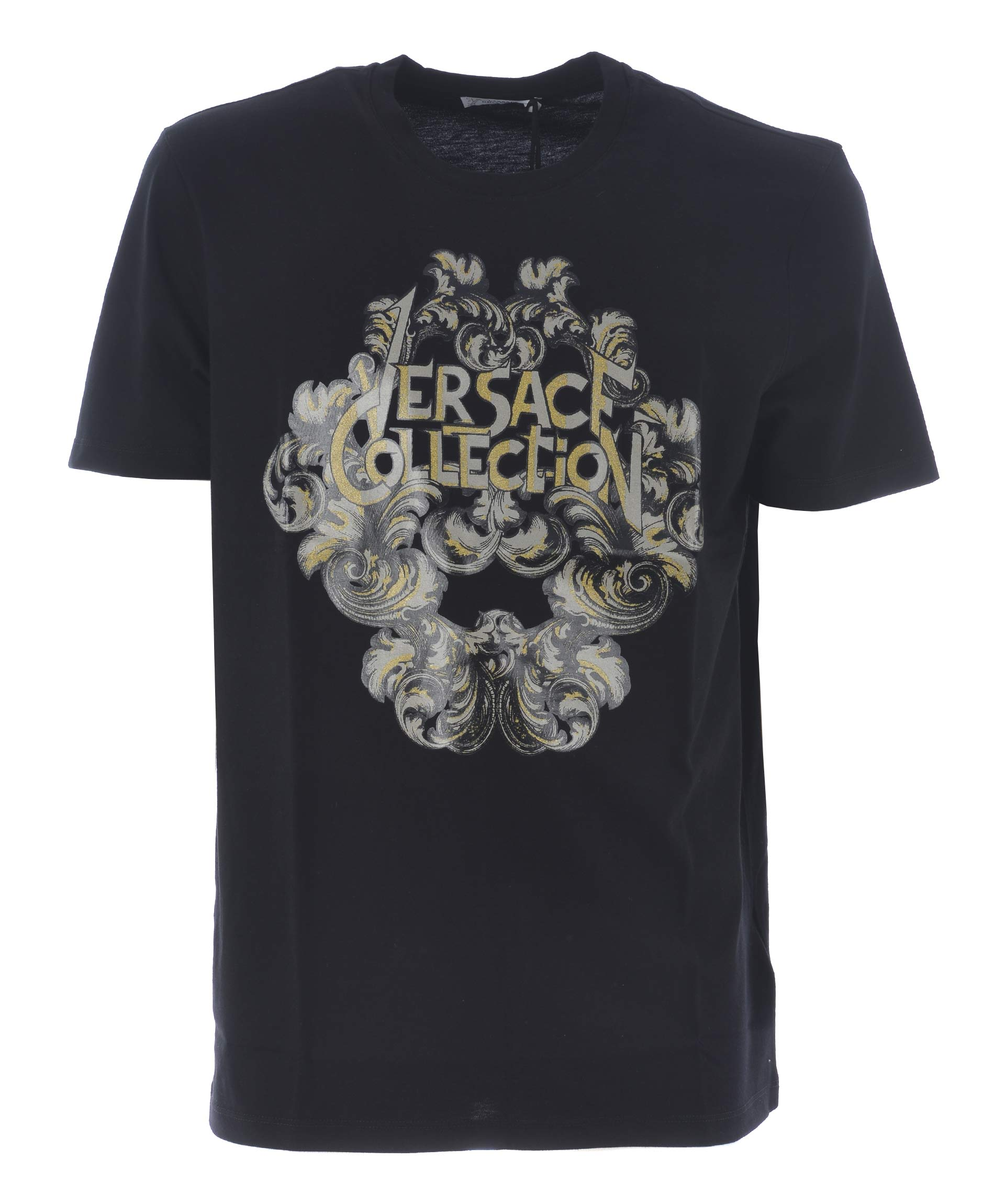 Versace Collection - Versace Collection Logo Print T-shirt ...