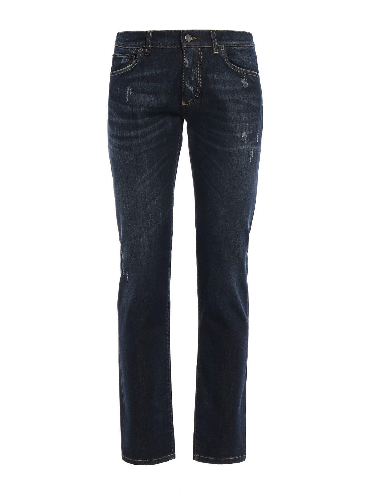 Dolce & Gabbana Dolce & Gabbana Distressed Jeans