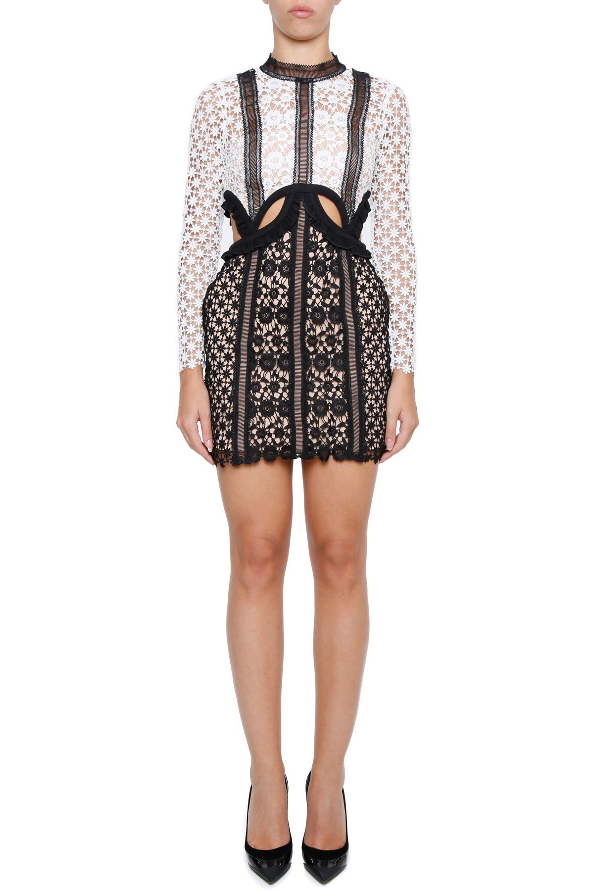 Payne Lace Mini Dress