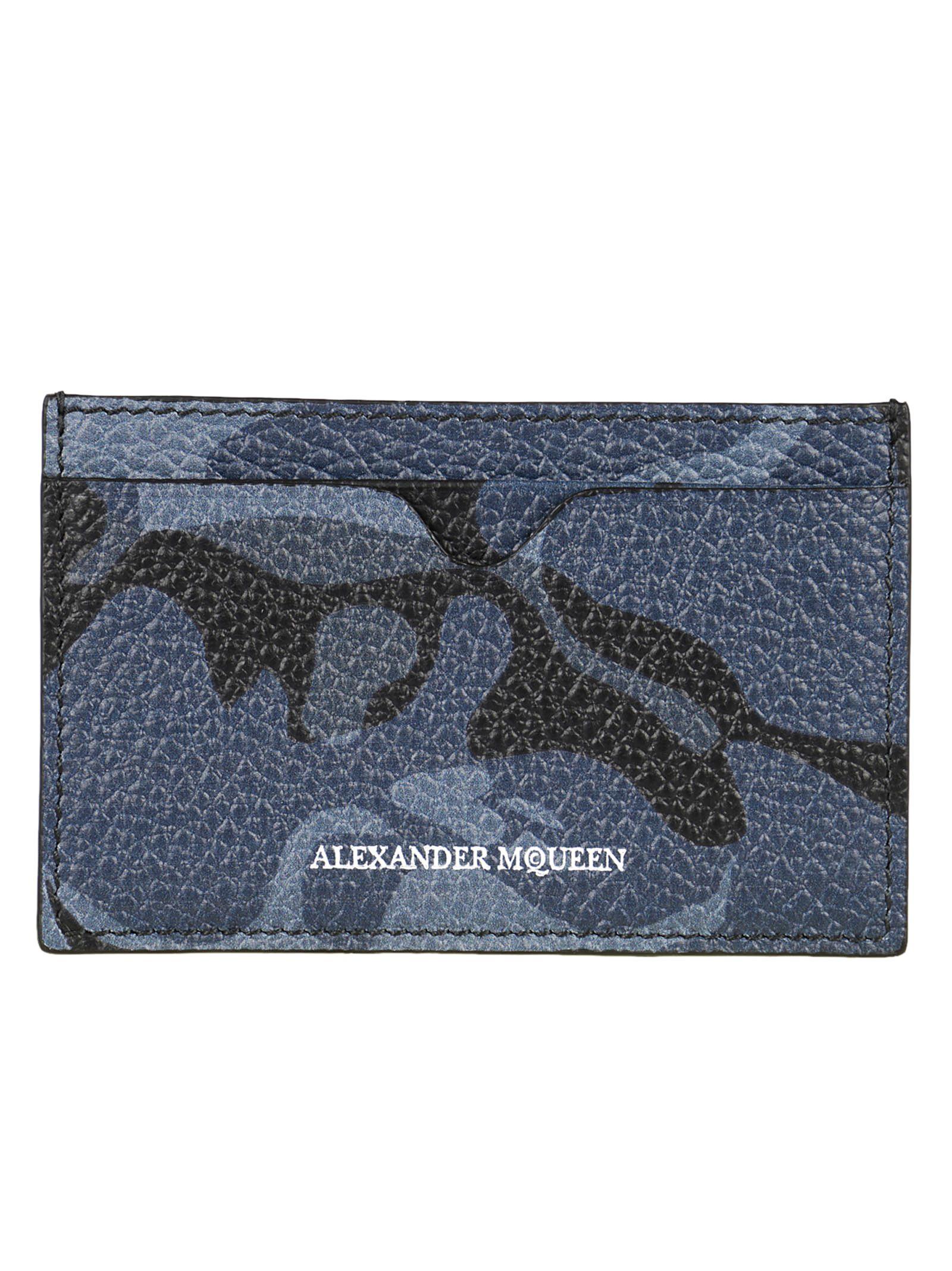 Alexander McQueen Camo Cardholder