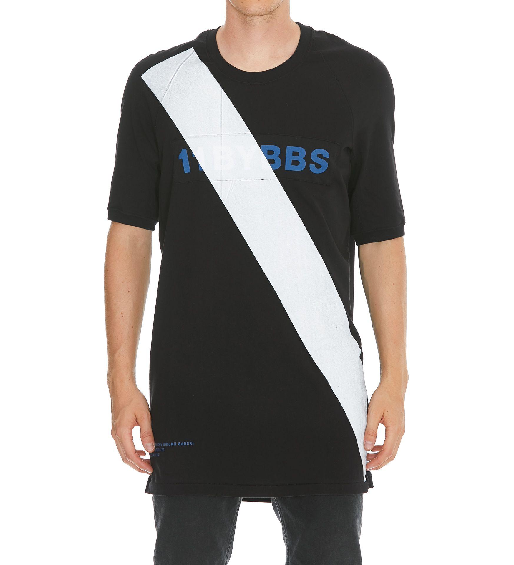 11 By Boris Bidjan Saberi Diagonal Tshirt