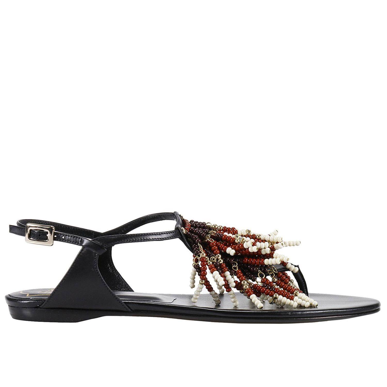 Flat Sandals Shoes Women Roger Vivier
