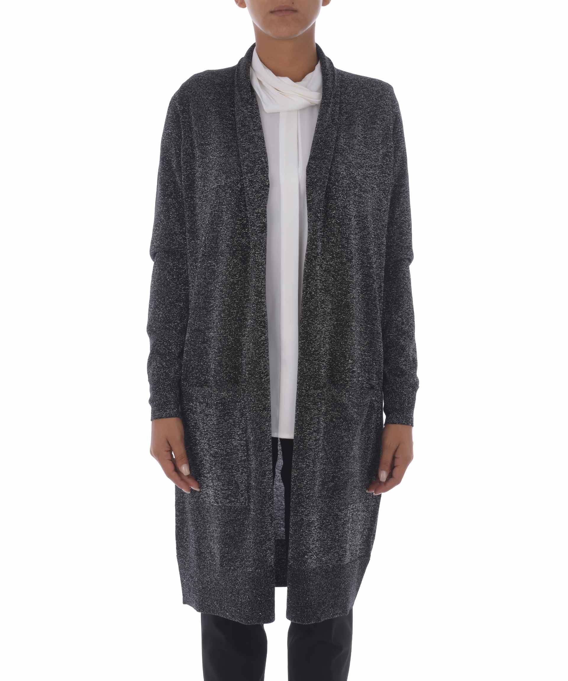Michael Kors Long Open Cardigan