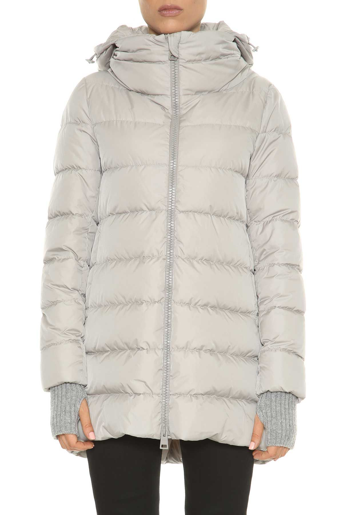 Herno Down Jacket With Knitted Cuffs