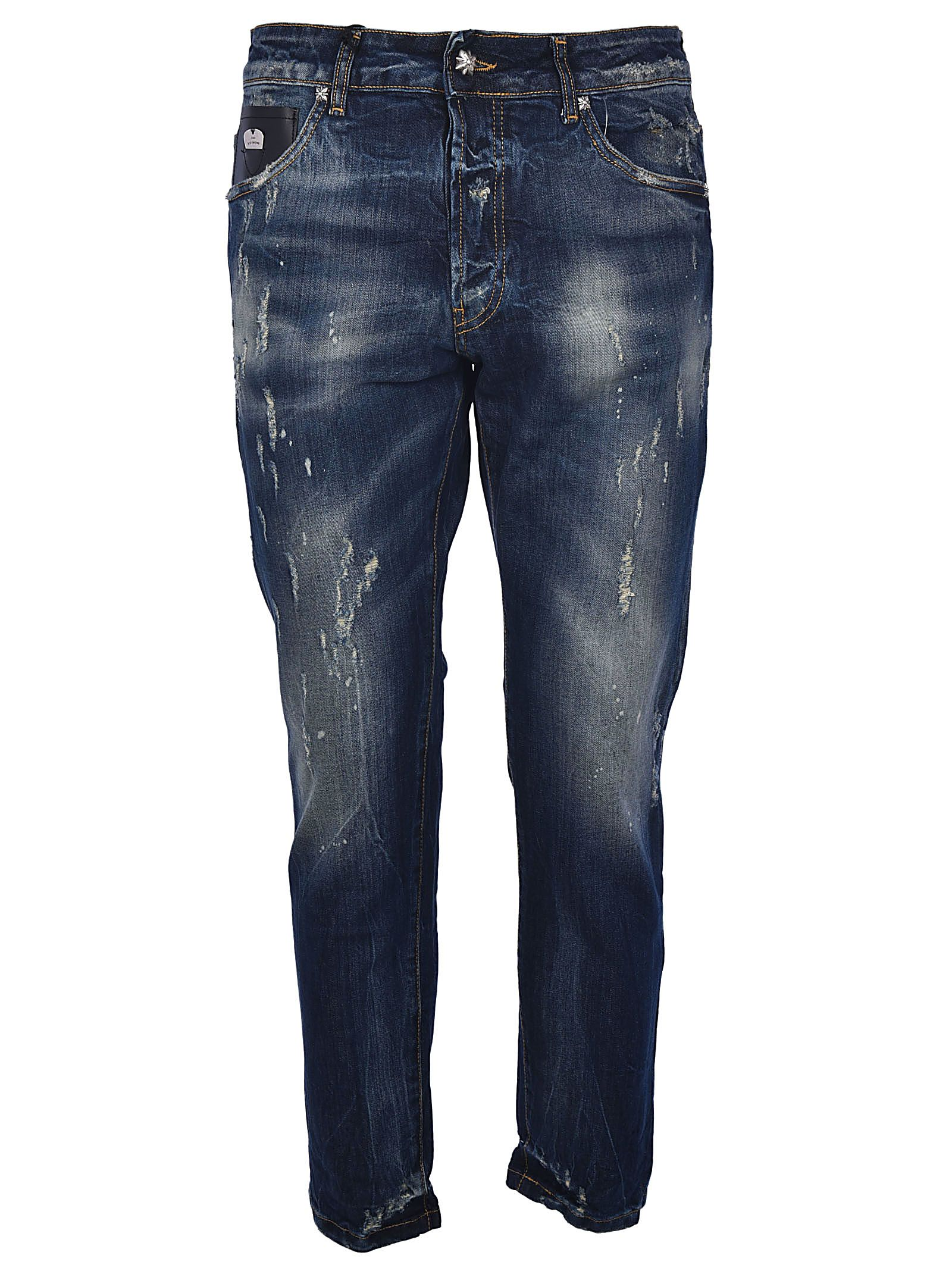 John Richmond Faded Skinny Jeans