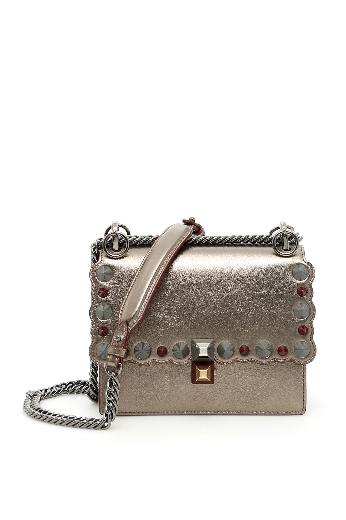 a3f730938266 Fendi Kan I Studded Bag