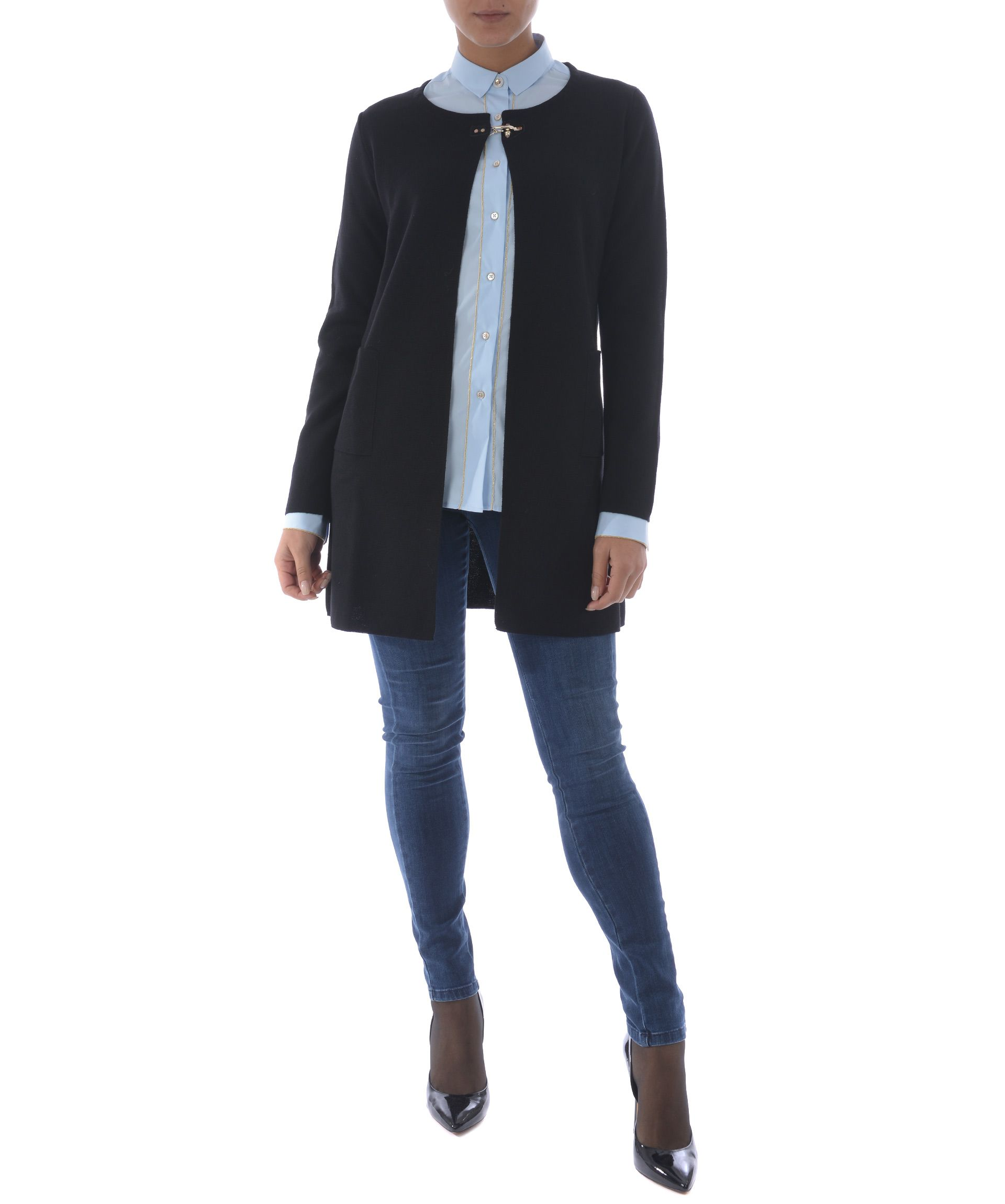 Fay Hook Detail Cardigan 9953802