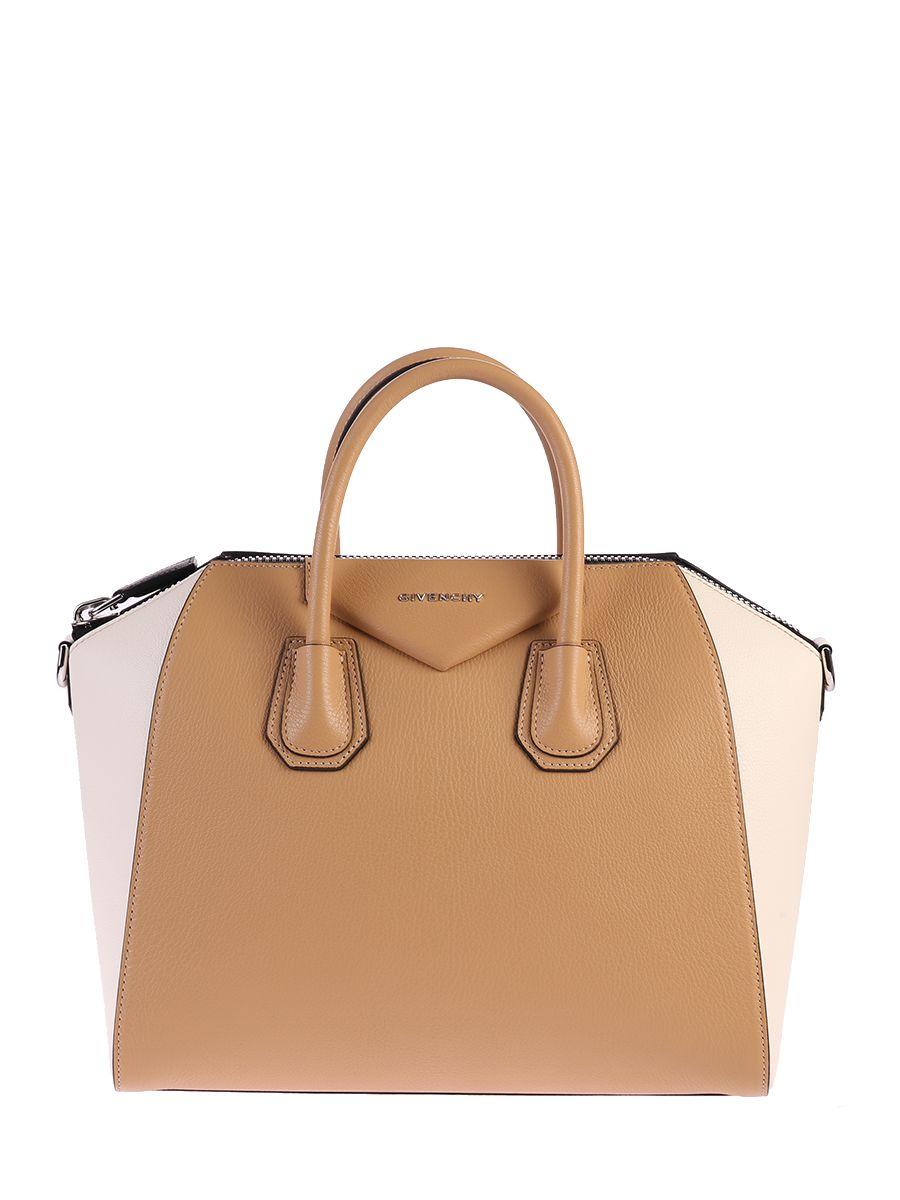 Medium Antigona Leather Bag