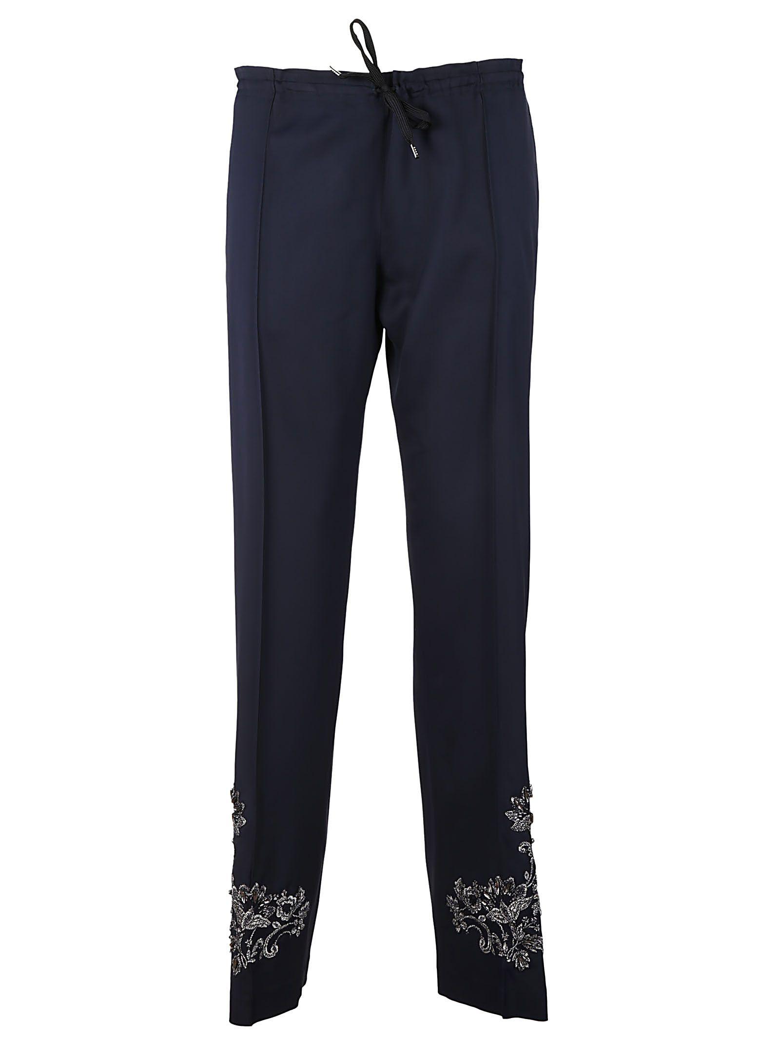 Ermanno Scervino Embroidered Trousers
