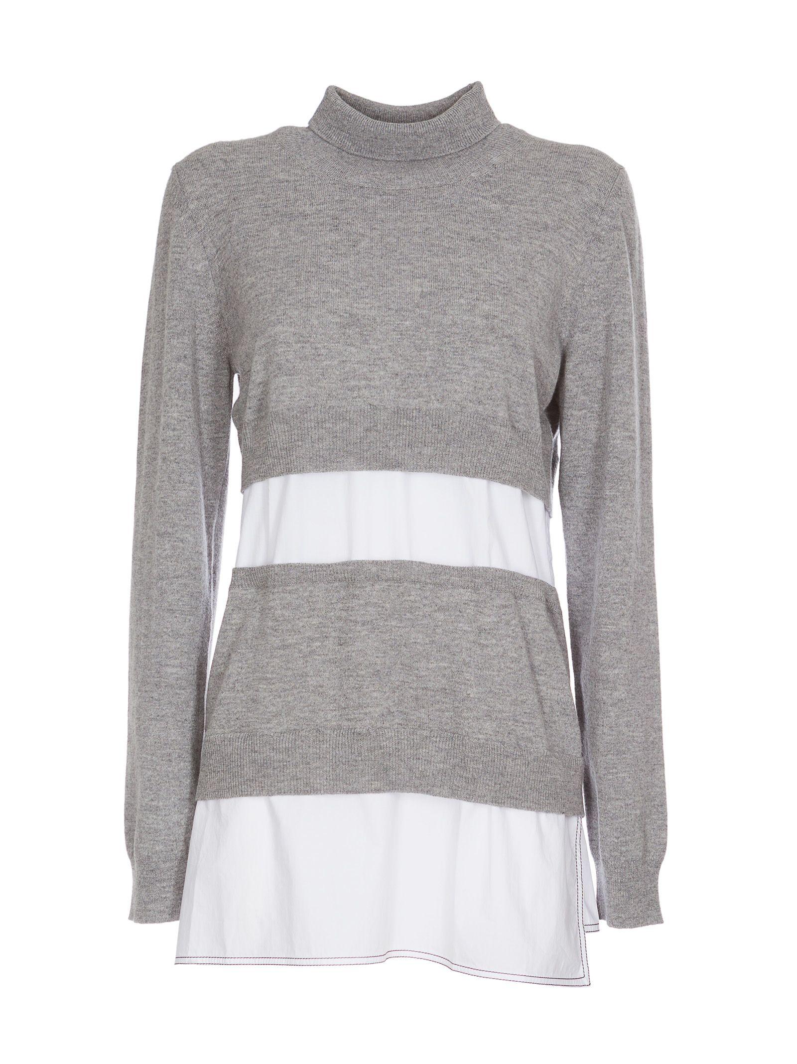 Marni Turtleneck Stripe Sweater