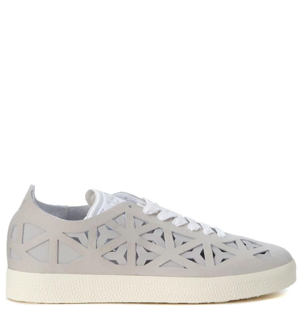 Originals Gazelle Cutout Grey Leather Adidas Sneaker