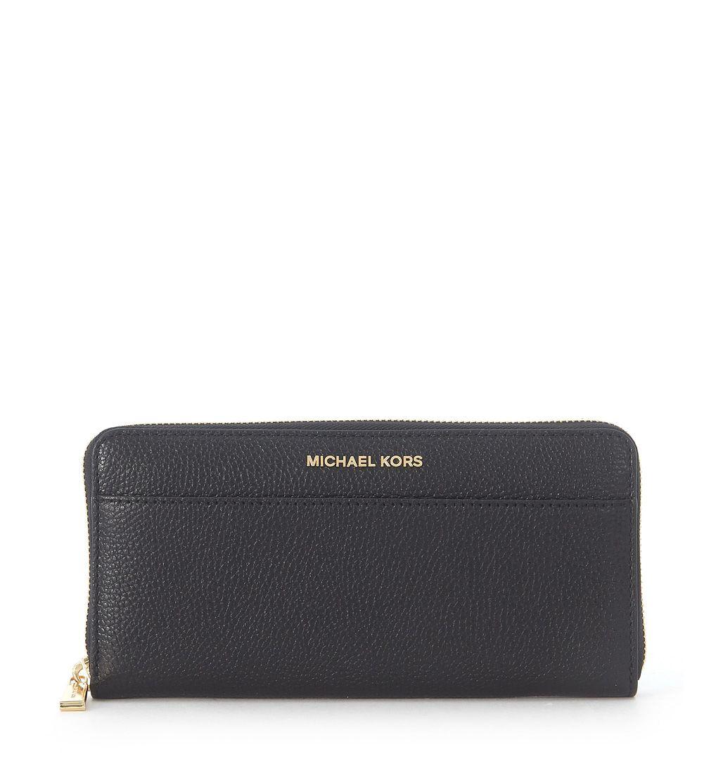 Michael Kors Mercer Black Saffiano Leather Wallet