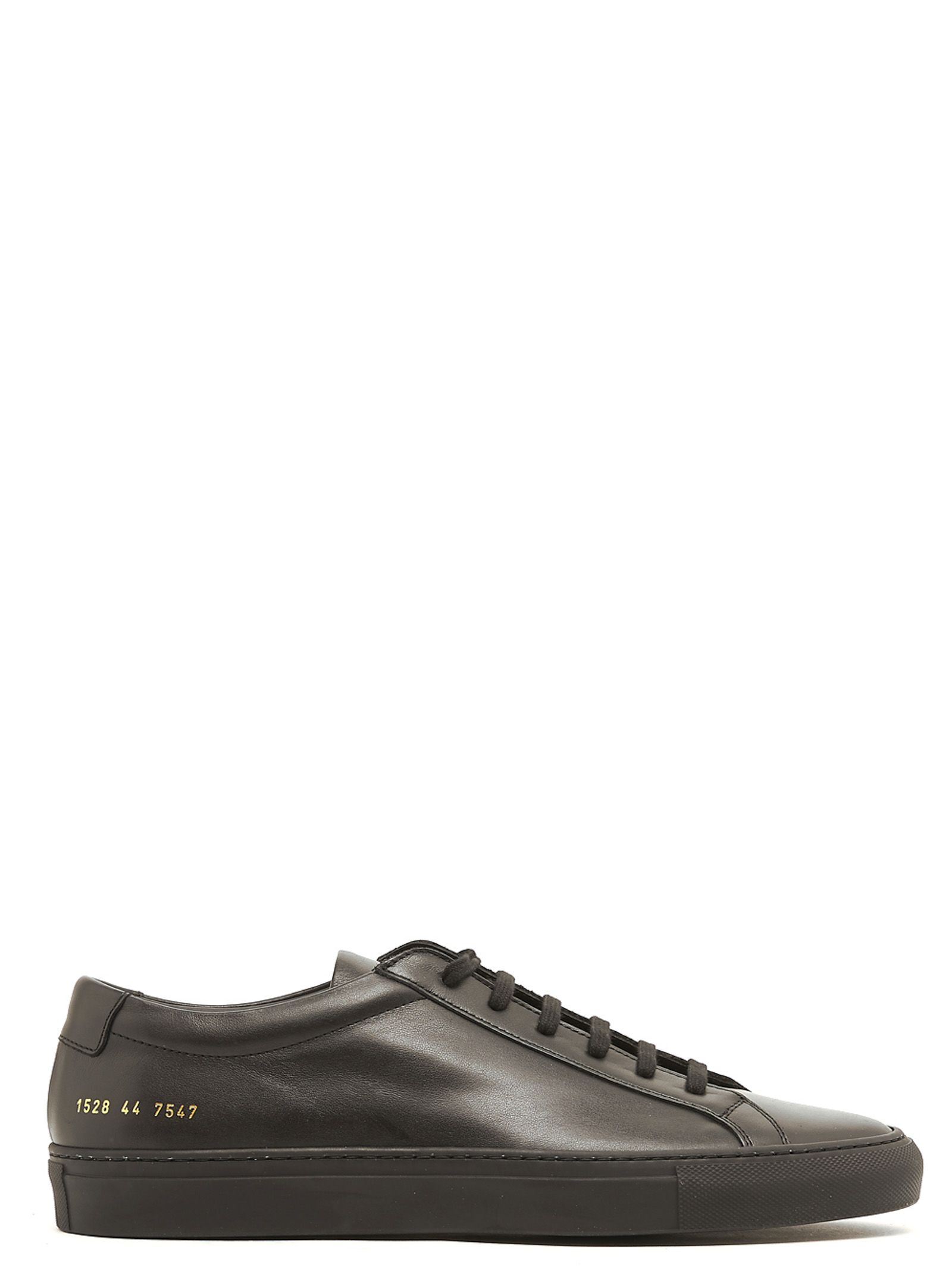 COMMON PROJECTS Original Achilles Patent Leather Low-Top Trainers, Black