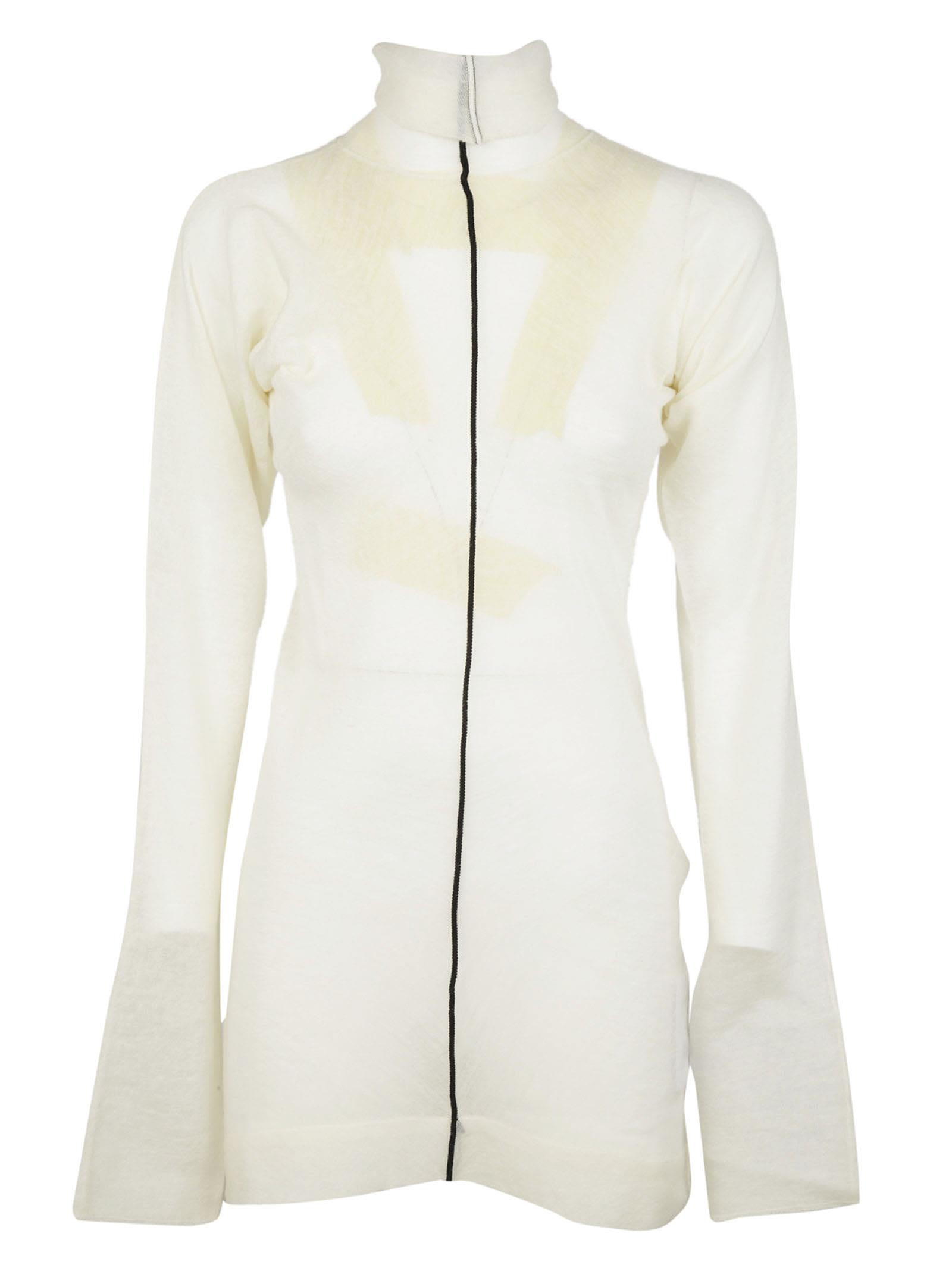 Celine - Celine Turtleneck Sweater - Off white, Women's Sweaters ...
