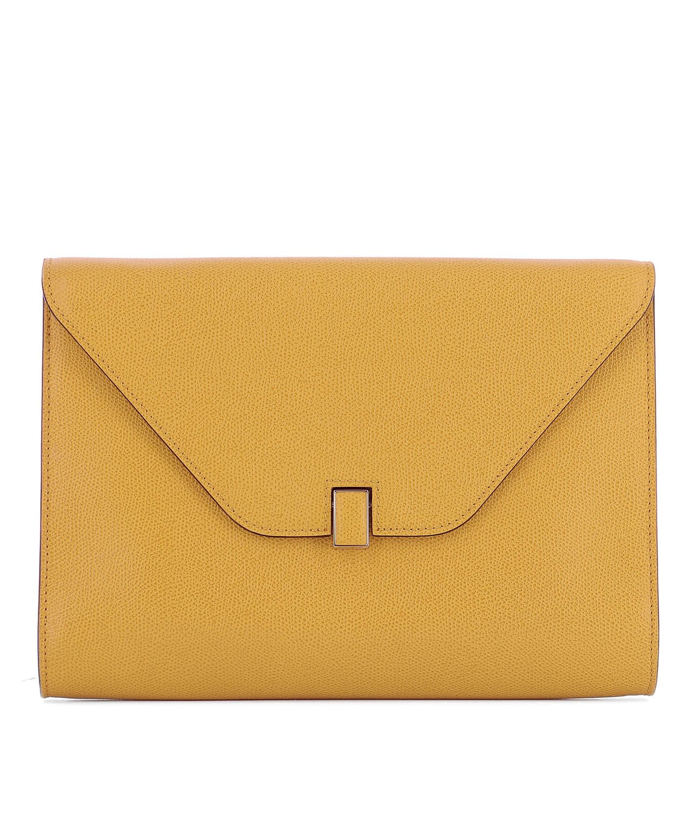 Yellow Leather Pochette