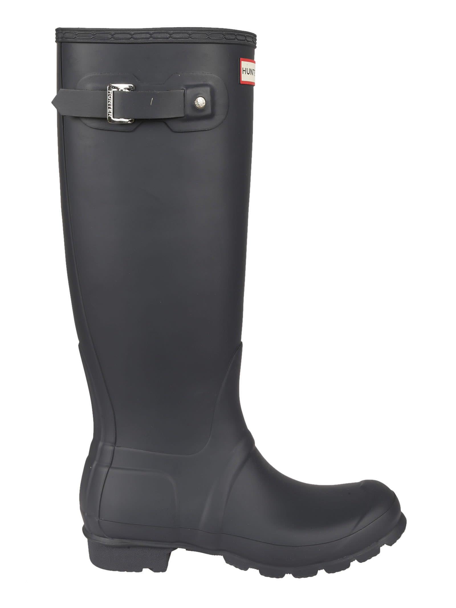 Navy Tall Wellington Rain Boots