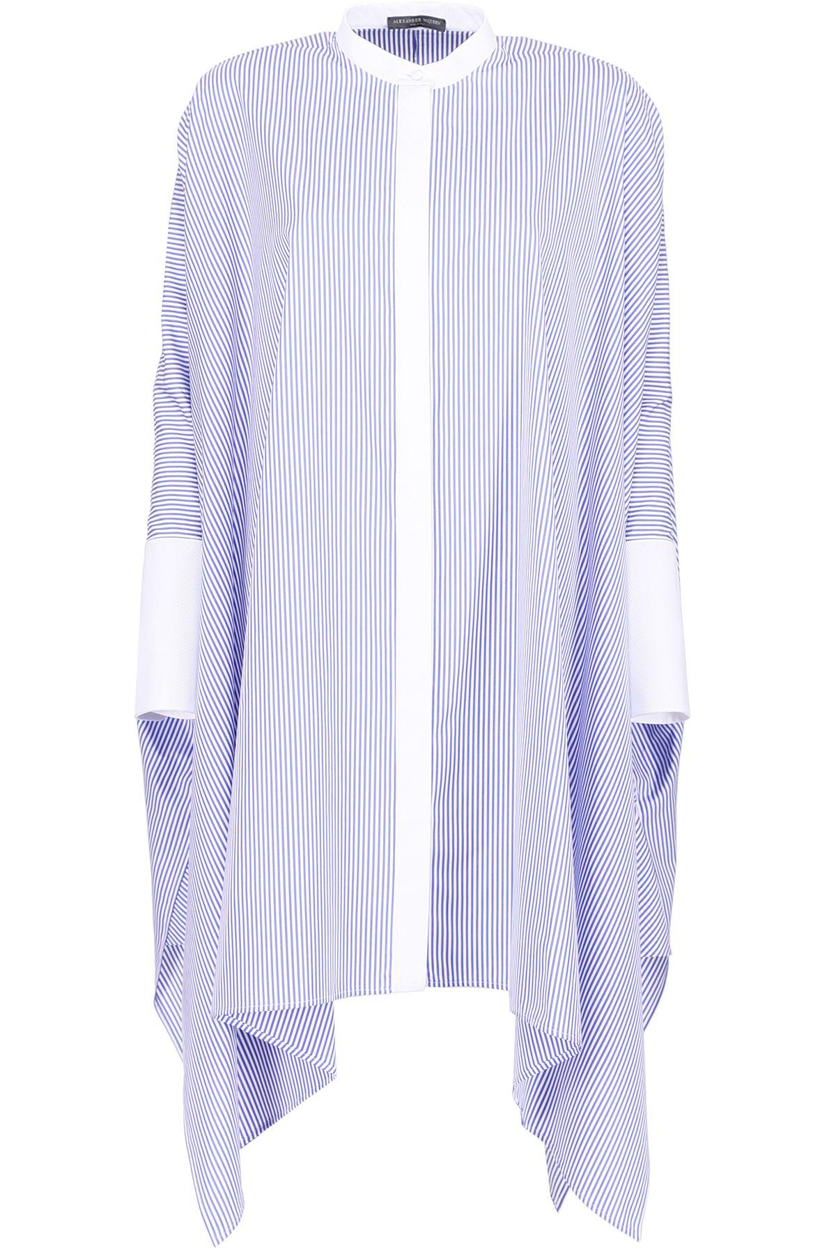 Striped Cotton Oversized Shirt