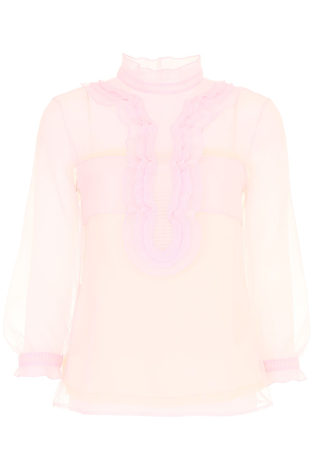 Cigaline Blouse With Ruffles
