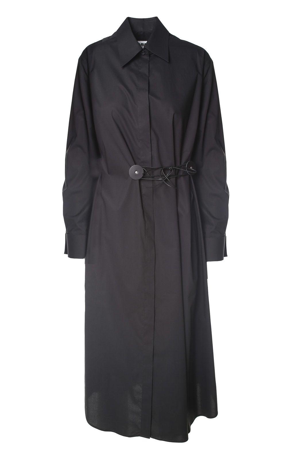 MM6 Maison Margiela Cotton-poplin Shirt Dress