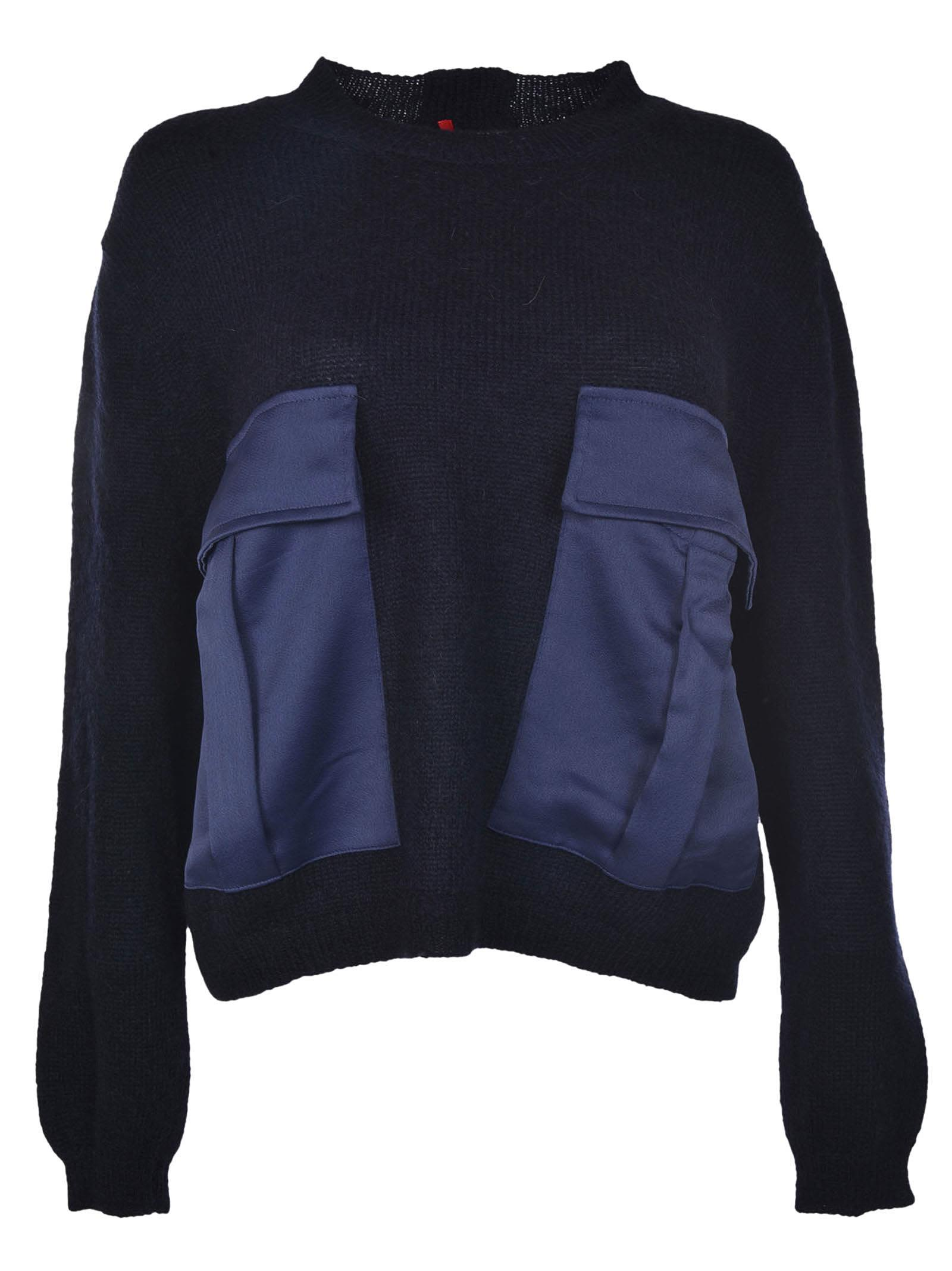 Semicouture Front Pockets Jumper