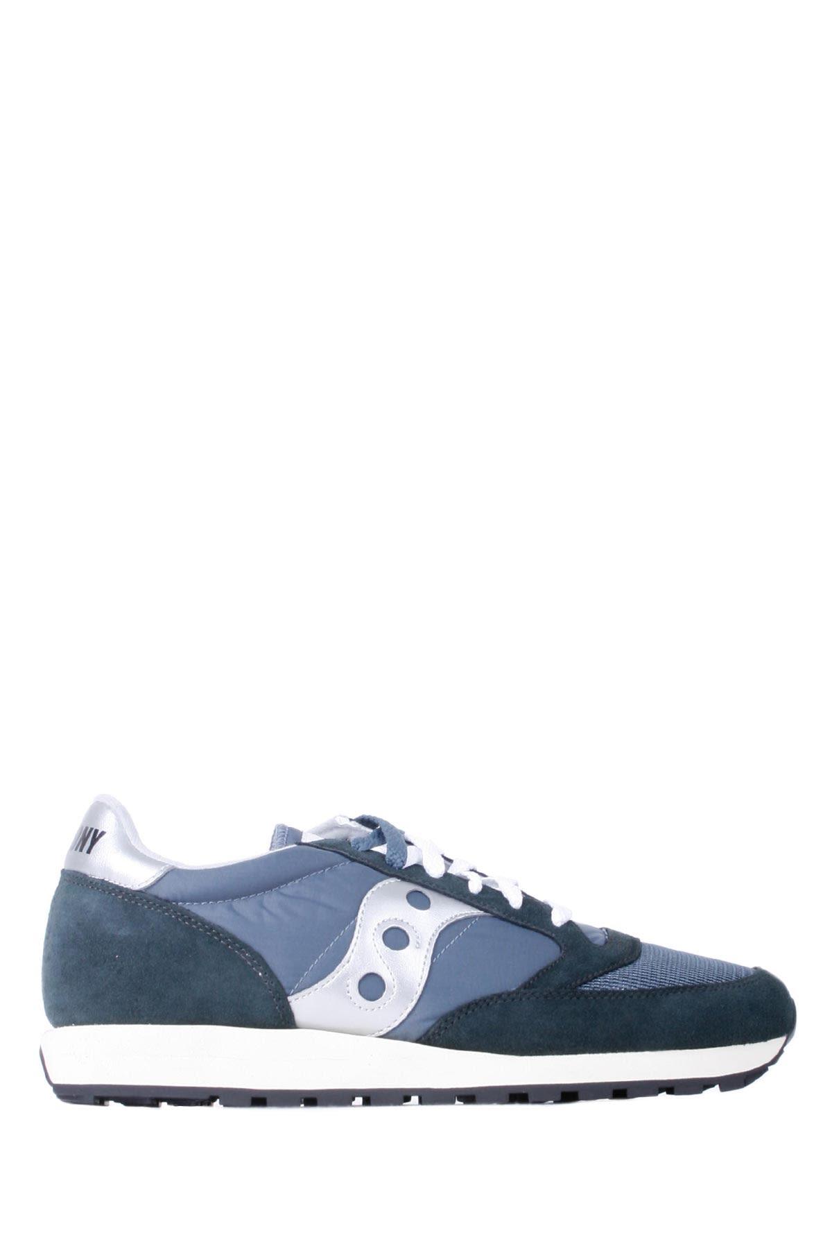 Saucony Vintage Blue, Blue And Silver Man Jazz Original Vintage Running Shoes