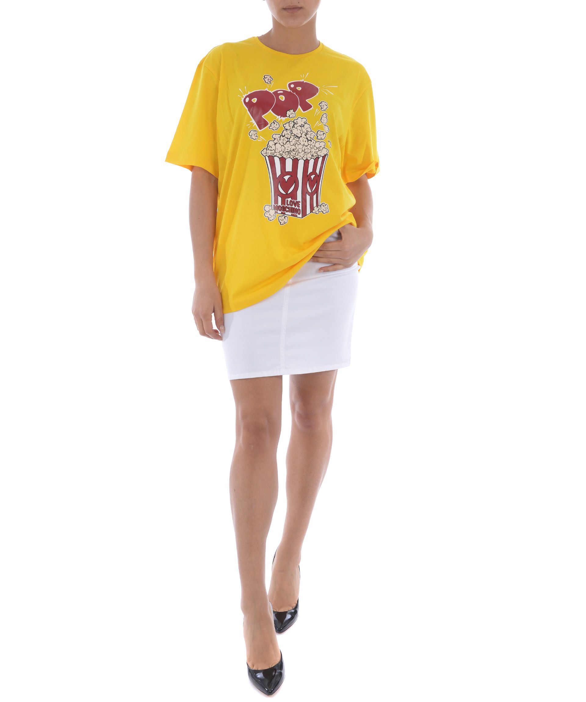Love Moschino Pop Corn T-shirt