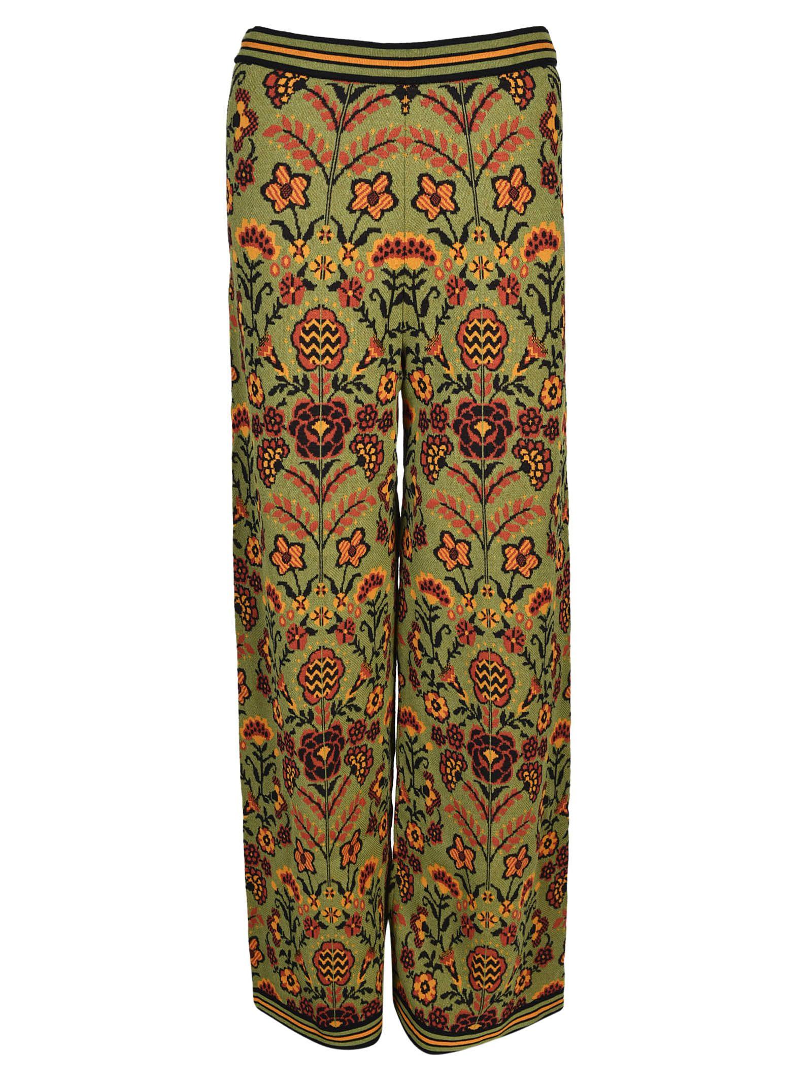 M Missoni Floral Print Trousers