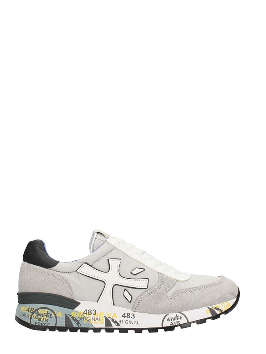 Premiata Mick Grey Nylon Sneakers
