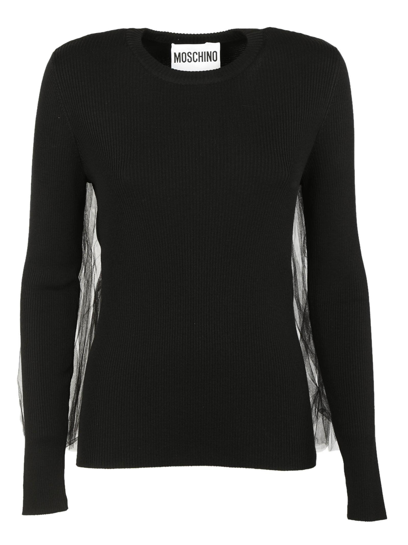 Moschino Tulle Back Sweater