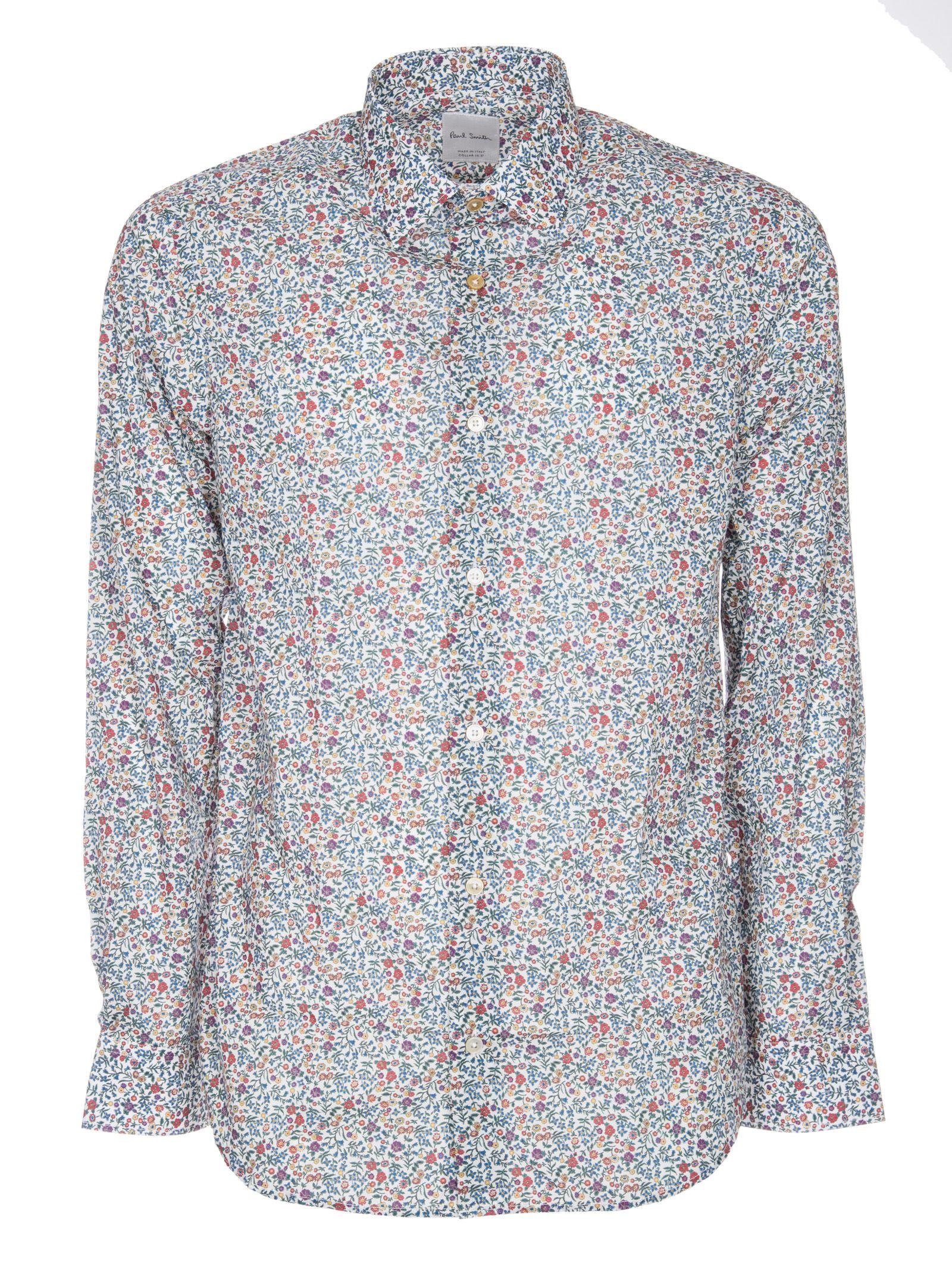 Paul Smith Bird Floral Shirt